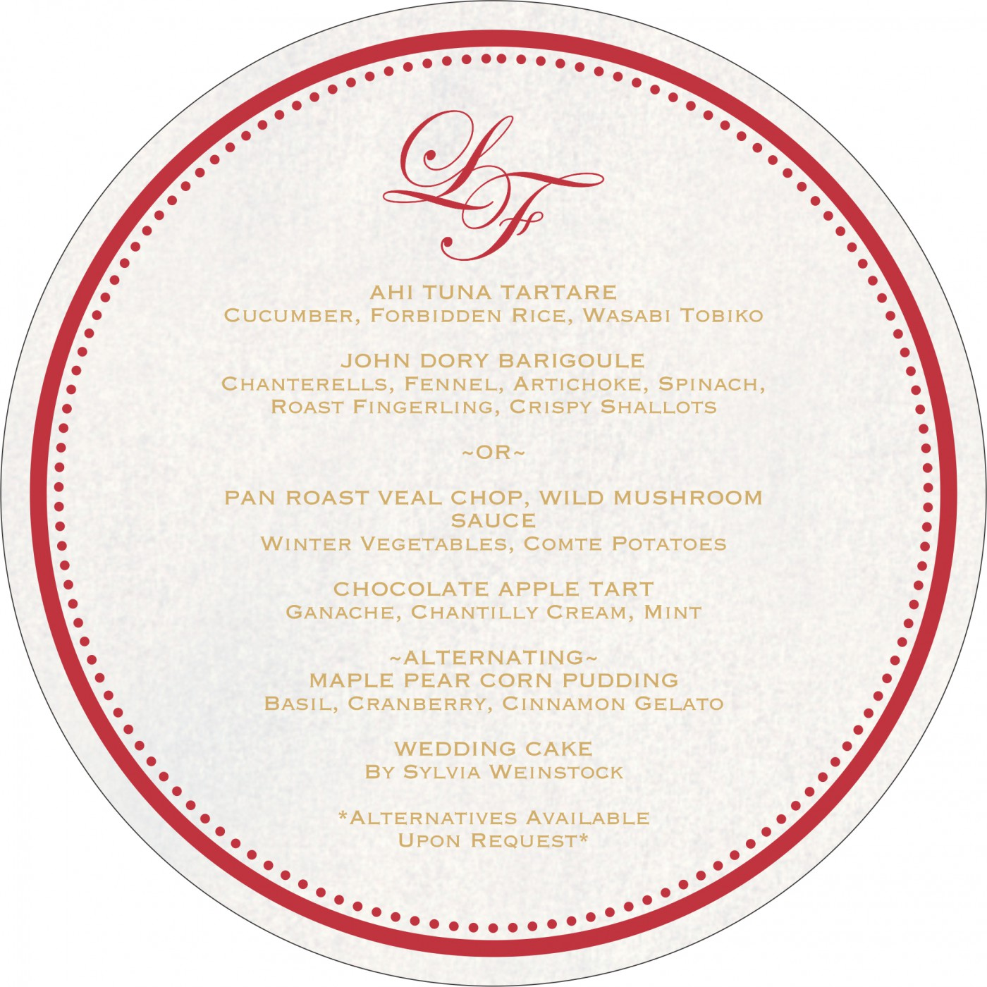 Menu Cards : MENU-8241F - 123WeddingCards