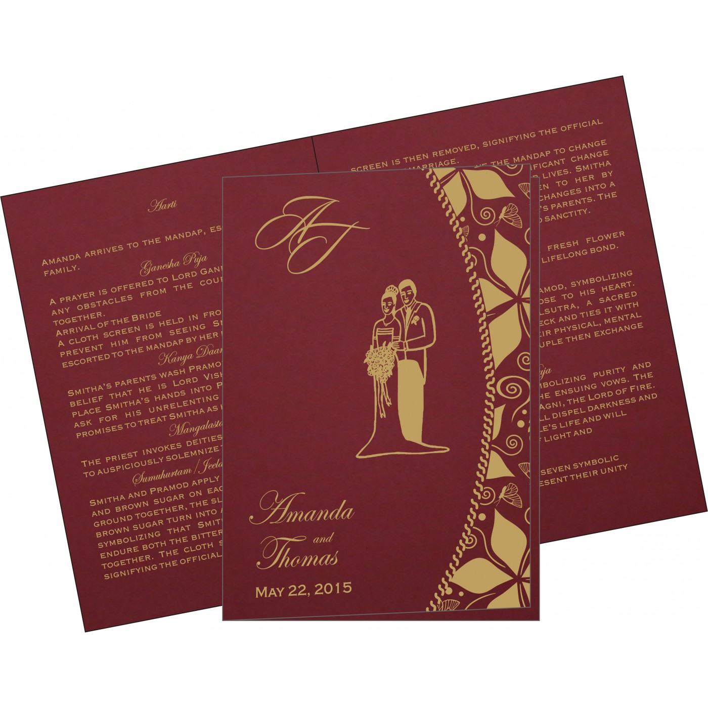 Program Booklets : PC-1169 - 123WeddingCards