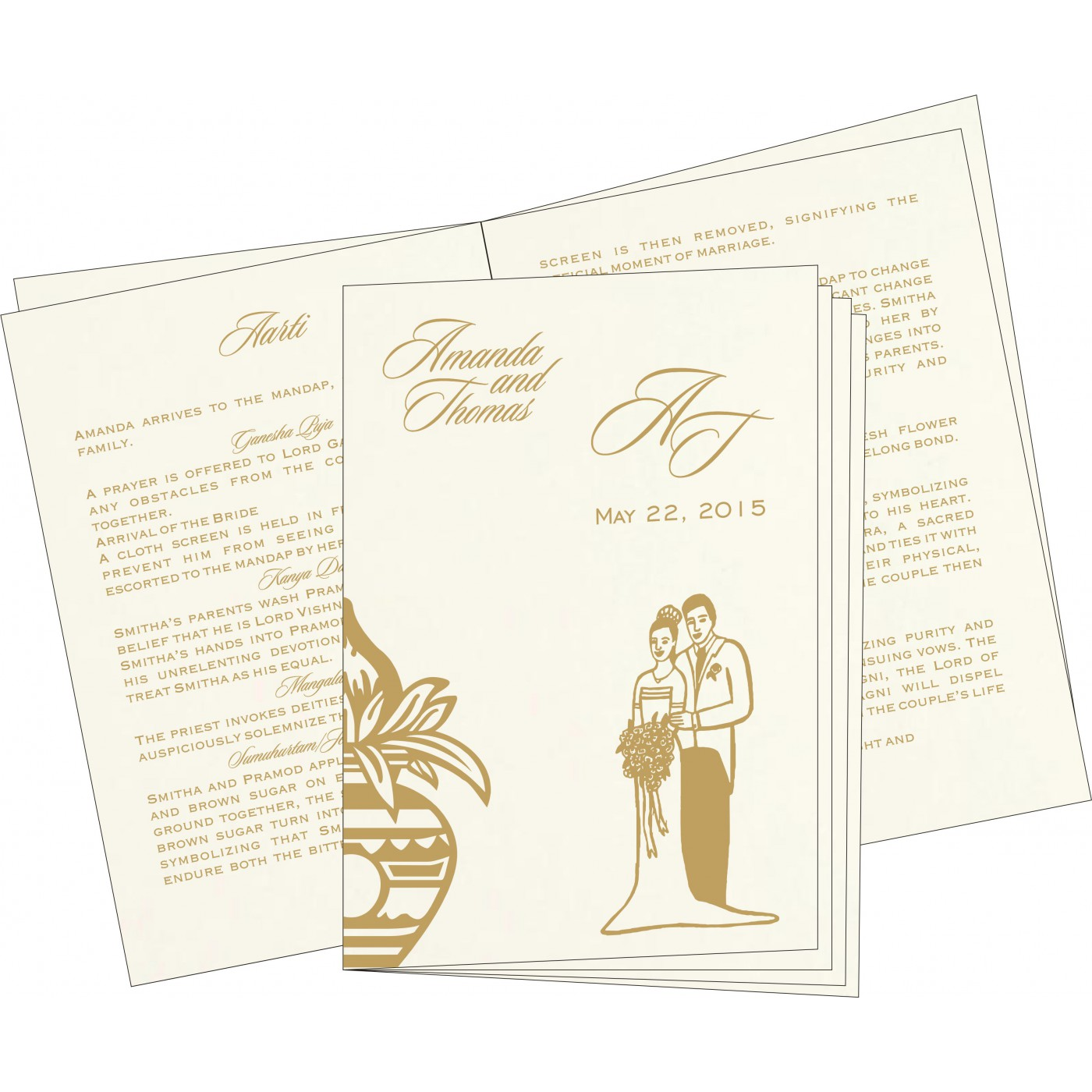 Program Booklets : PC-1188 - 123WeddingCards