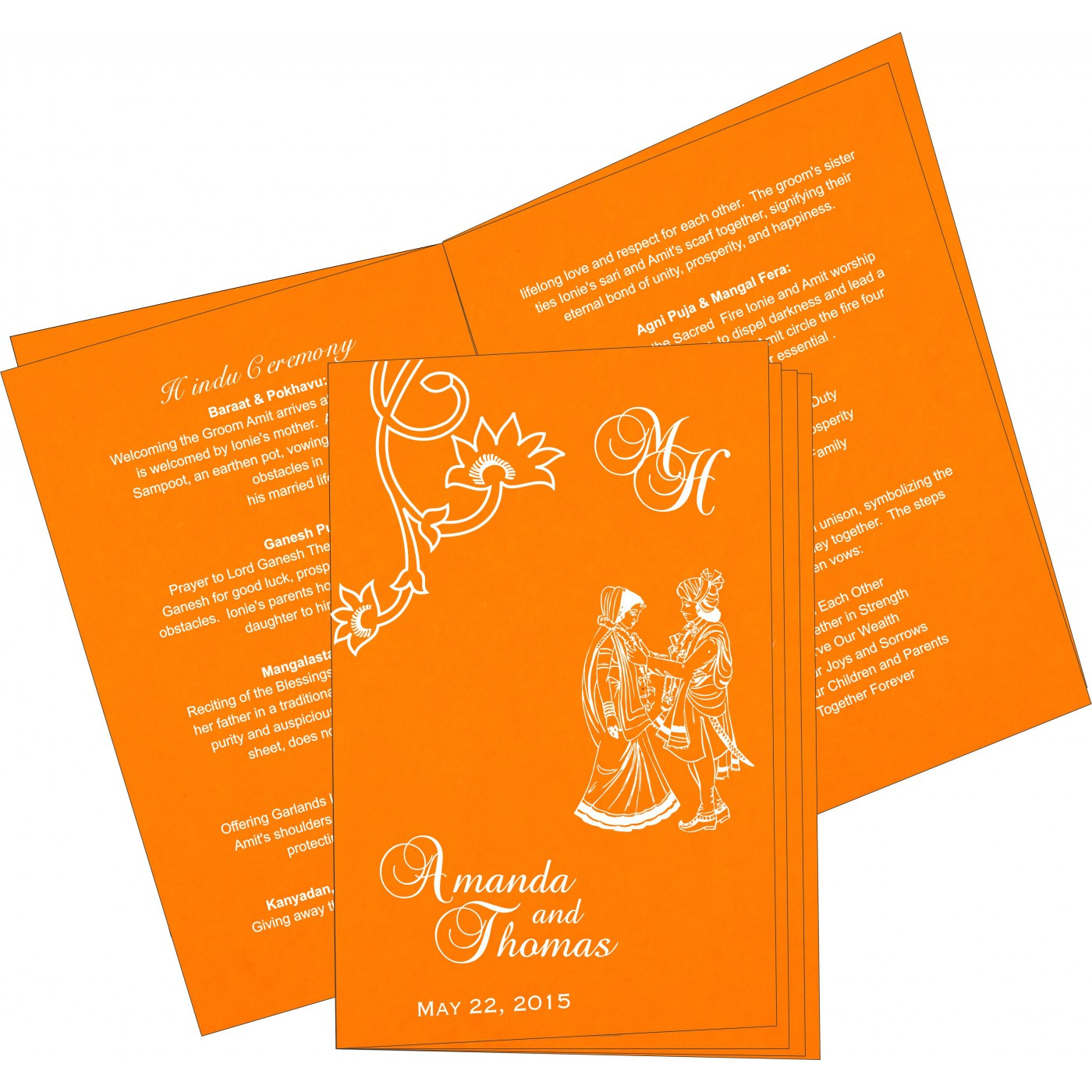 Program Booklets : PC-1346 - 123WeddingCards