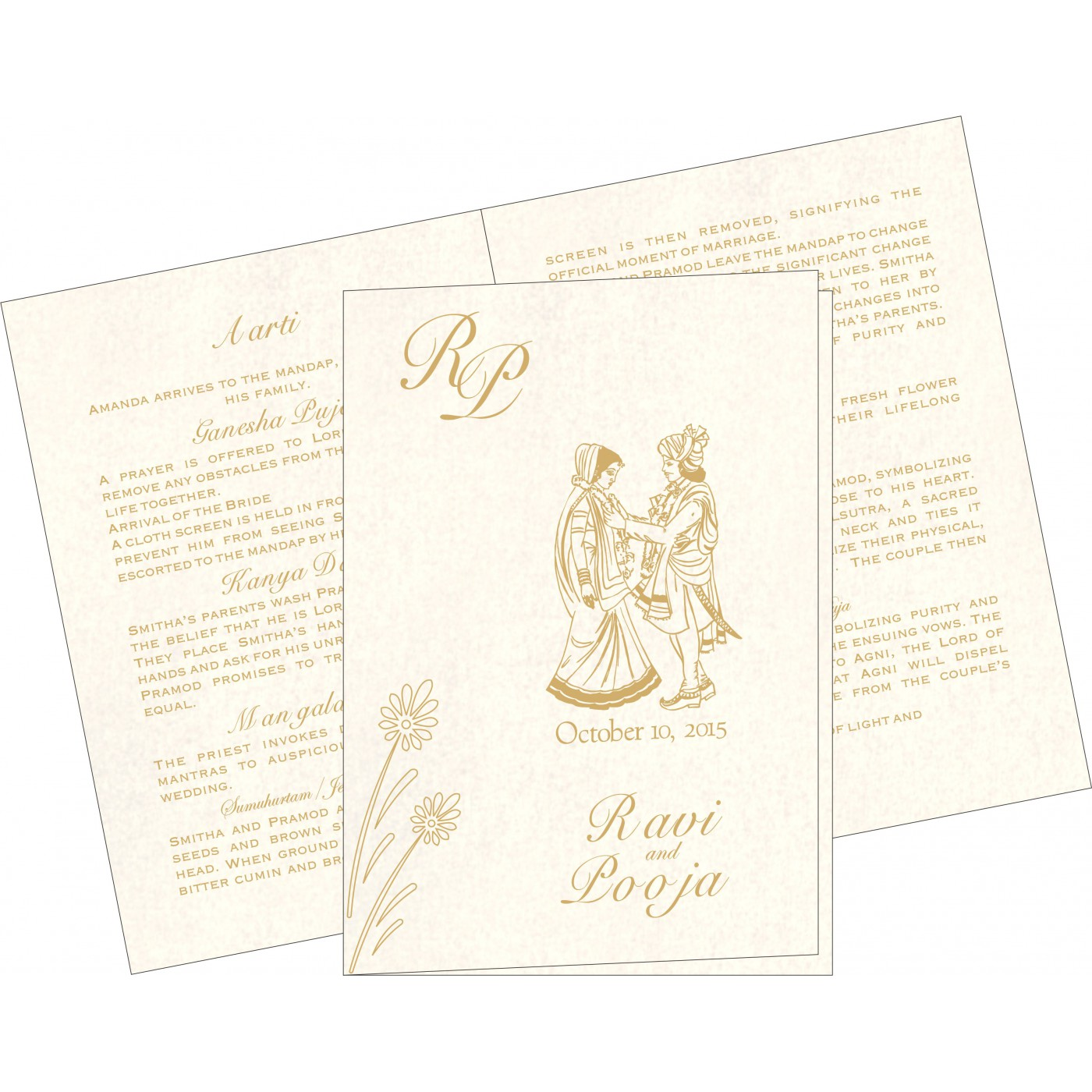 Program Booklets : PC-1378 - 123WeddingCards