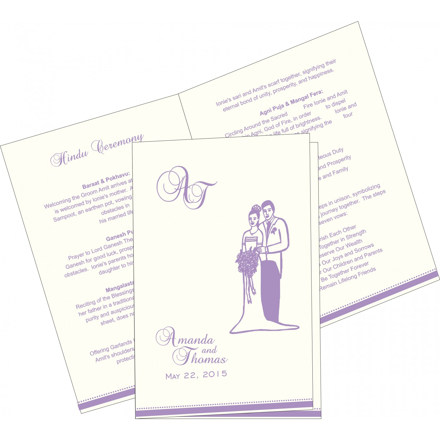 Program Booklets : PC-1431 - 123WeddingCards