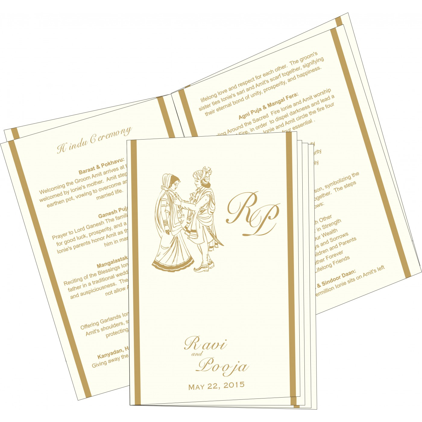Program Booklets : PC-2151 - 123WeddingCards