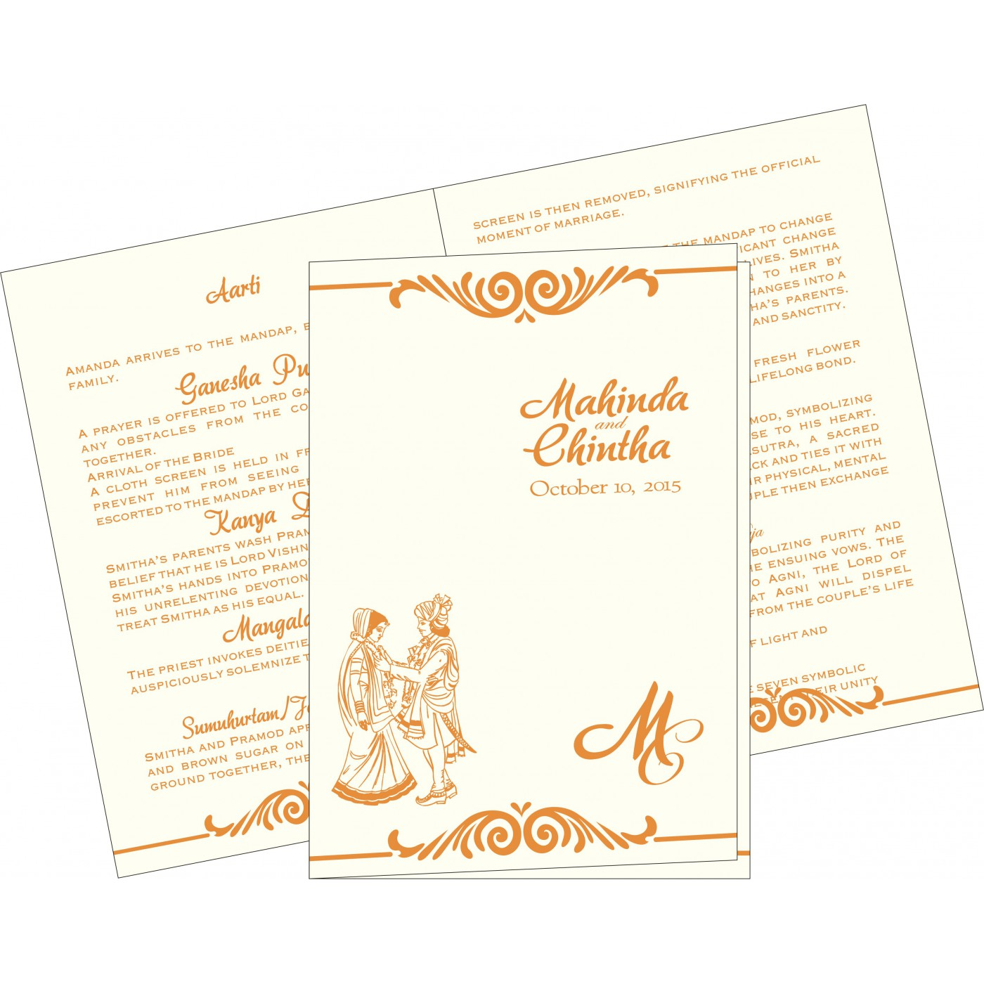 Program Booklets : PC-2206 - 123WeddingCards