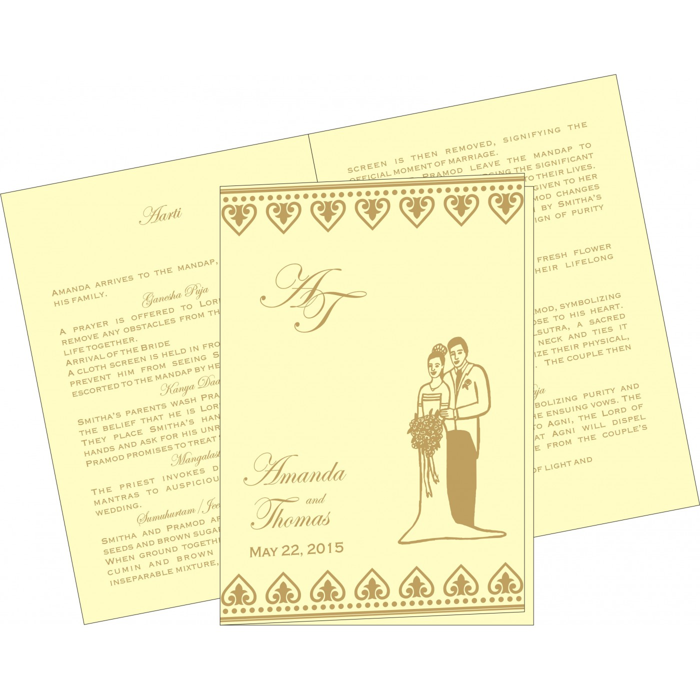 Program Booklets : PC-2220 - 123WeddingCards