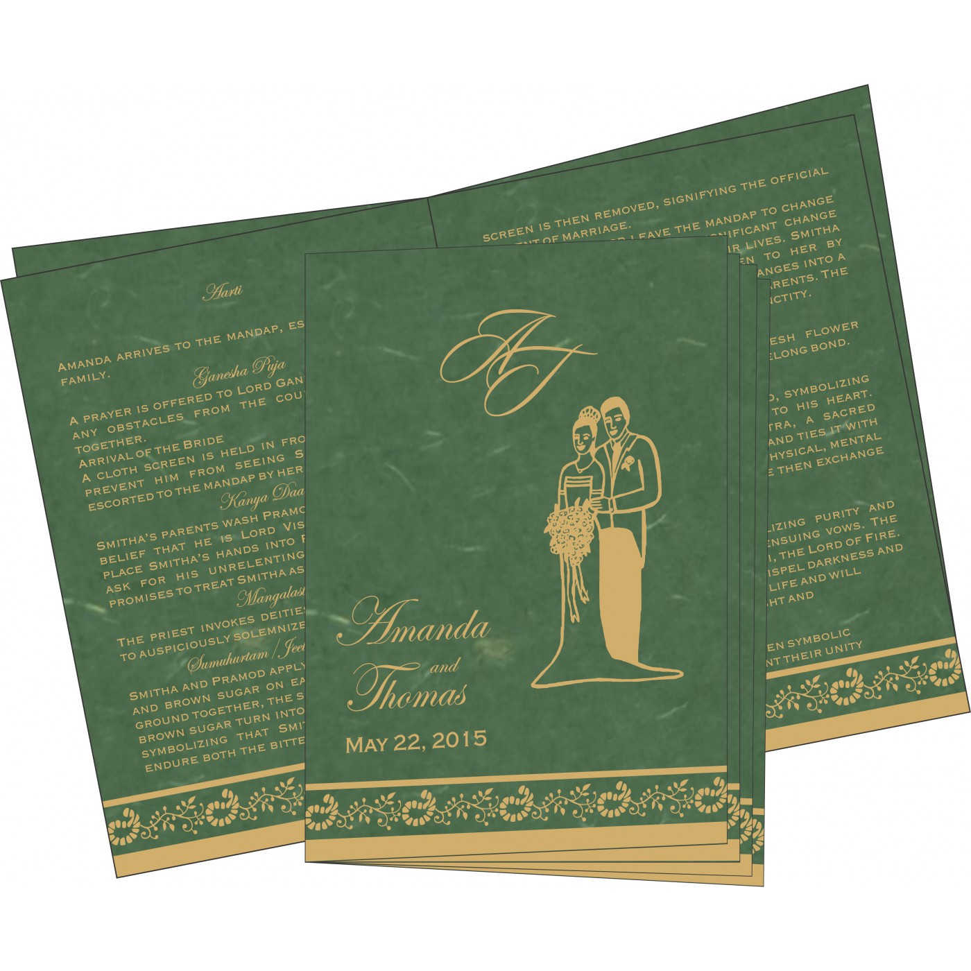 Program Booklets : PC-8208L - 123WeddingCards