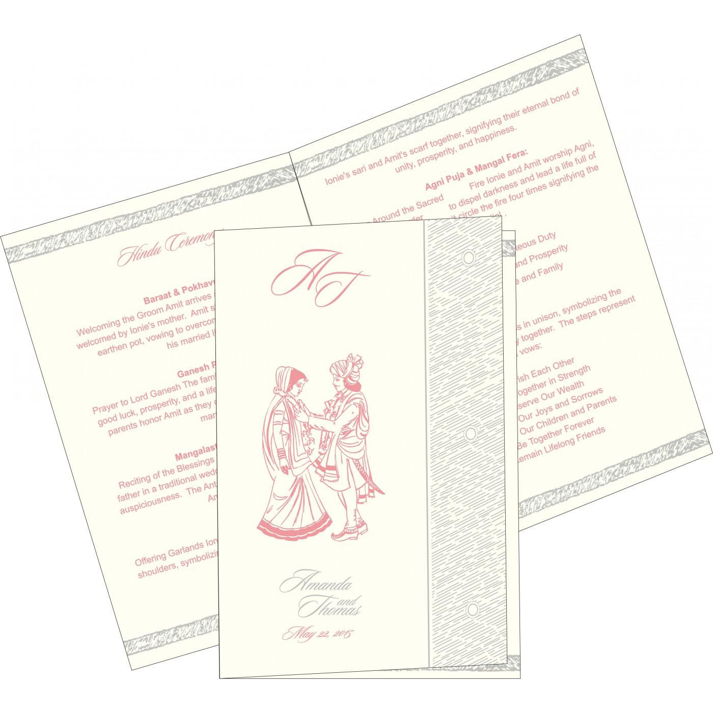 Program Booklets : PC-8209H - 123WeddingCards