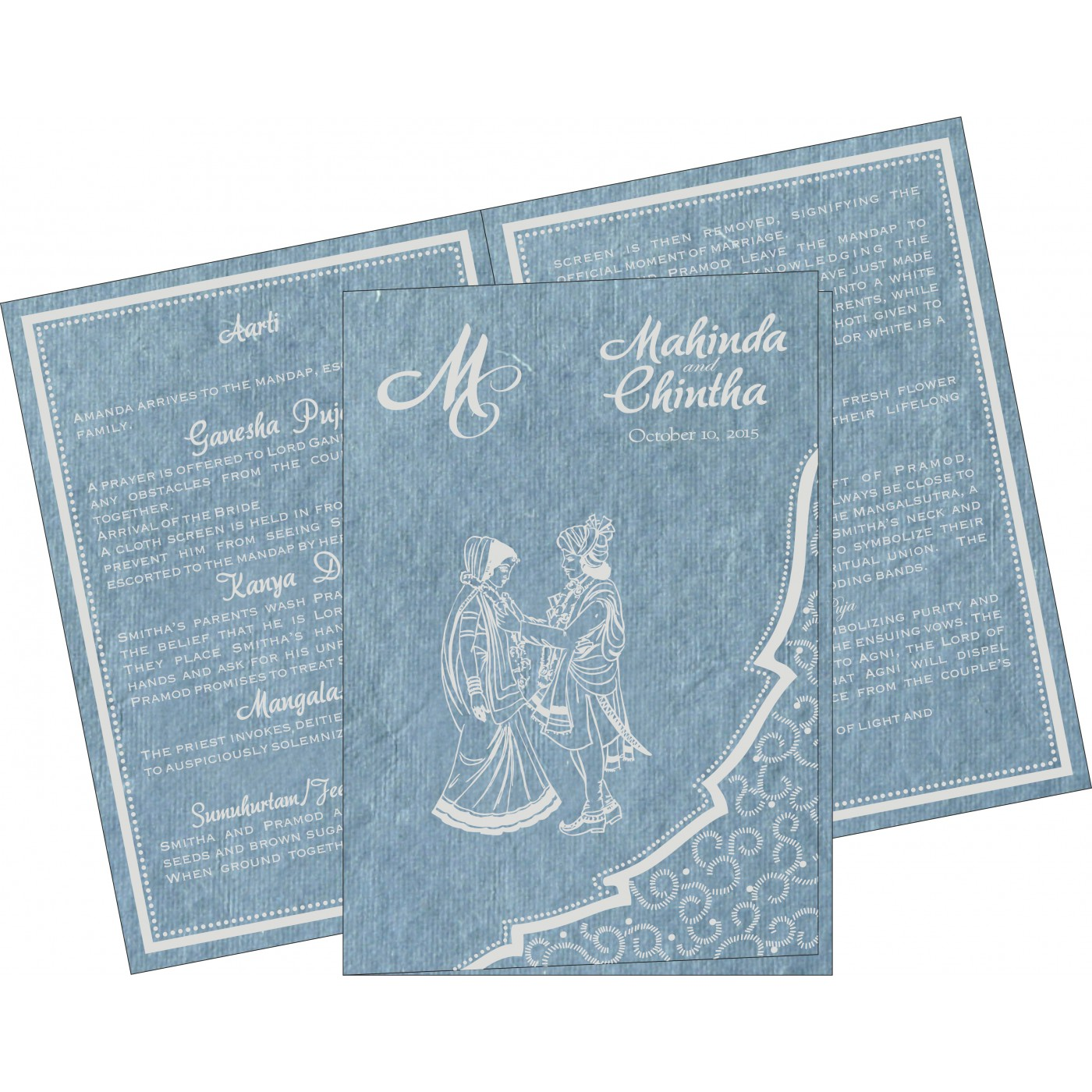 Program Booklets : PC-8219E - 123WeddingCards