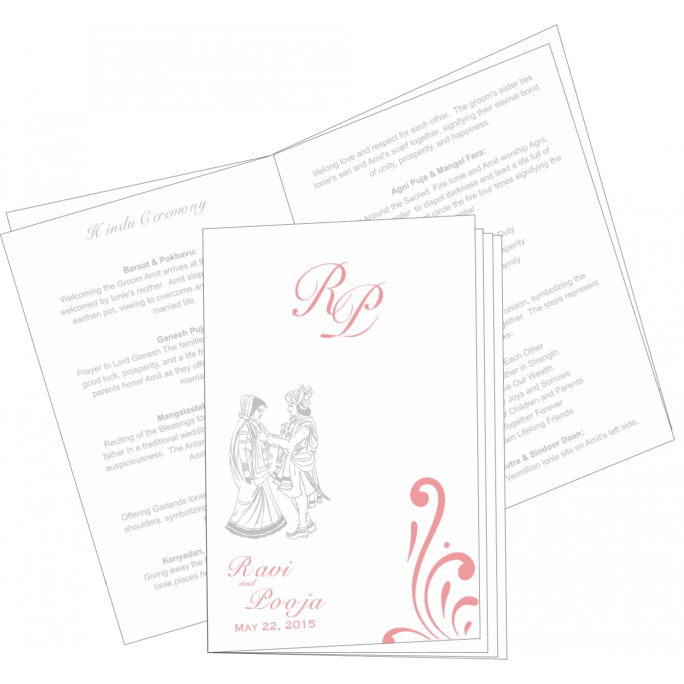 Program Booklets : PC-8223E - 123WeddingCards
