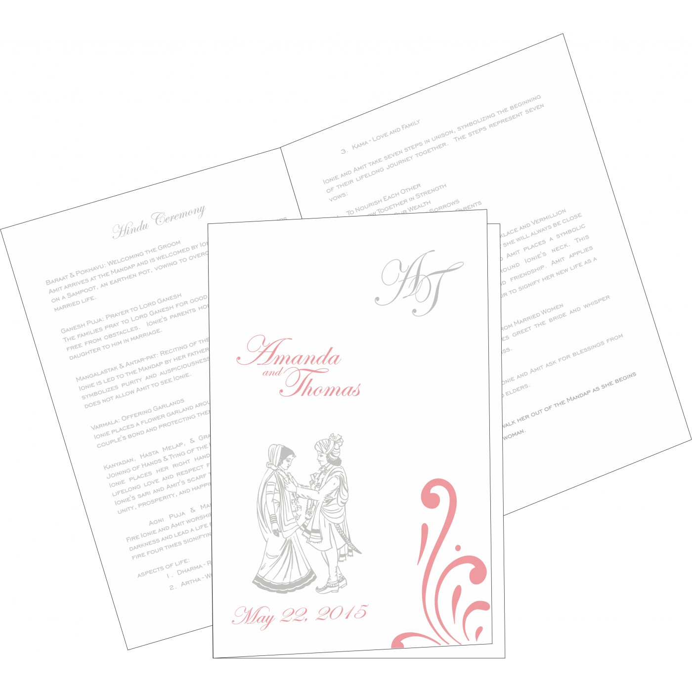 Program Booklets : PC-8223N - 123WeddingCards