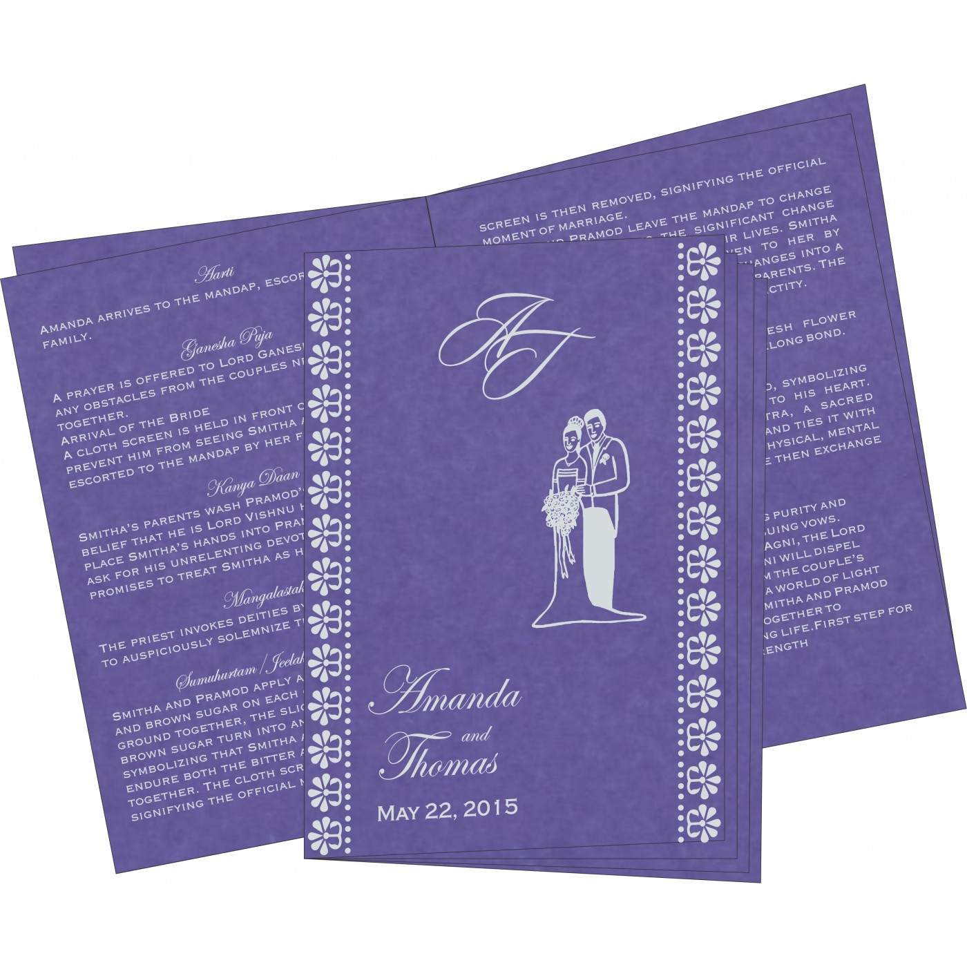 Program Booklets : PC-8231K - 123WeddingCards