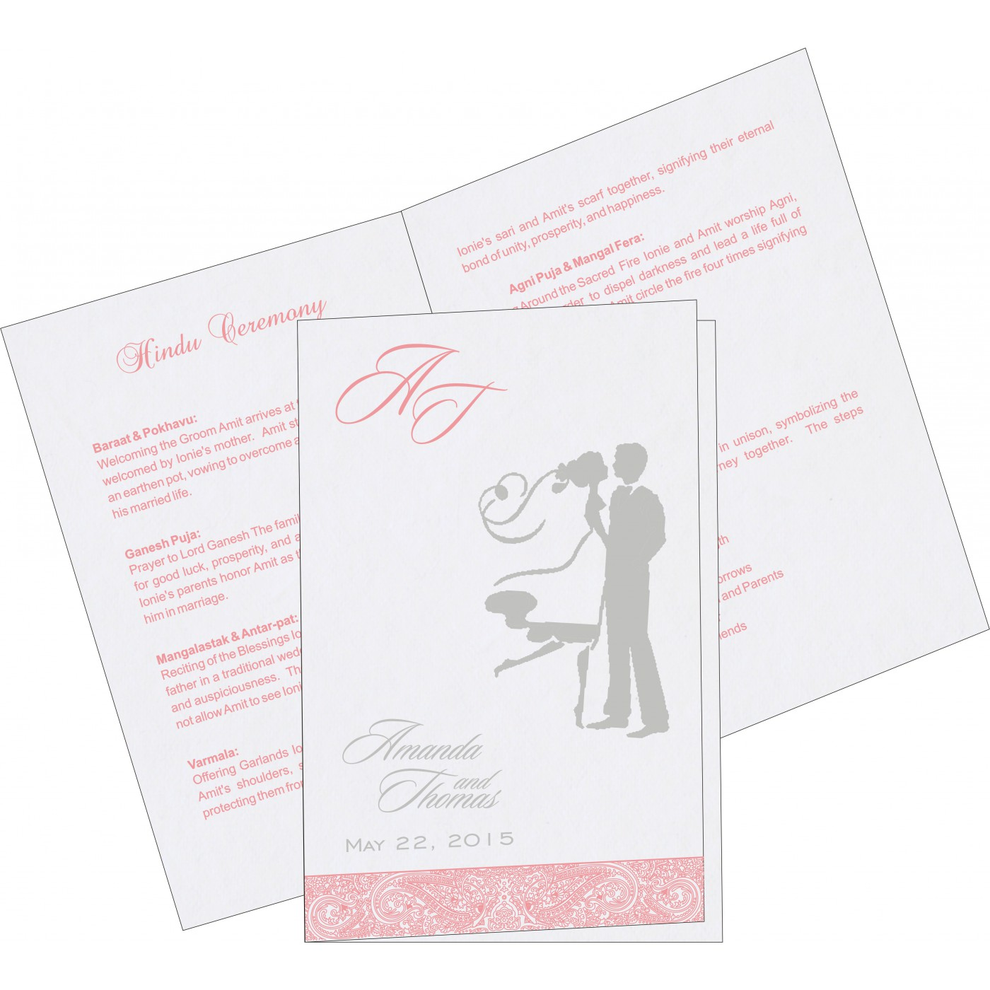 Program Booklets : PC-8234G - 123WeddingCards
