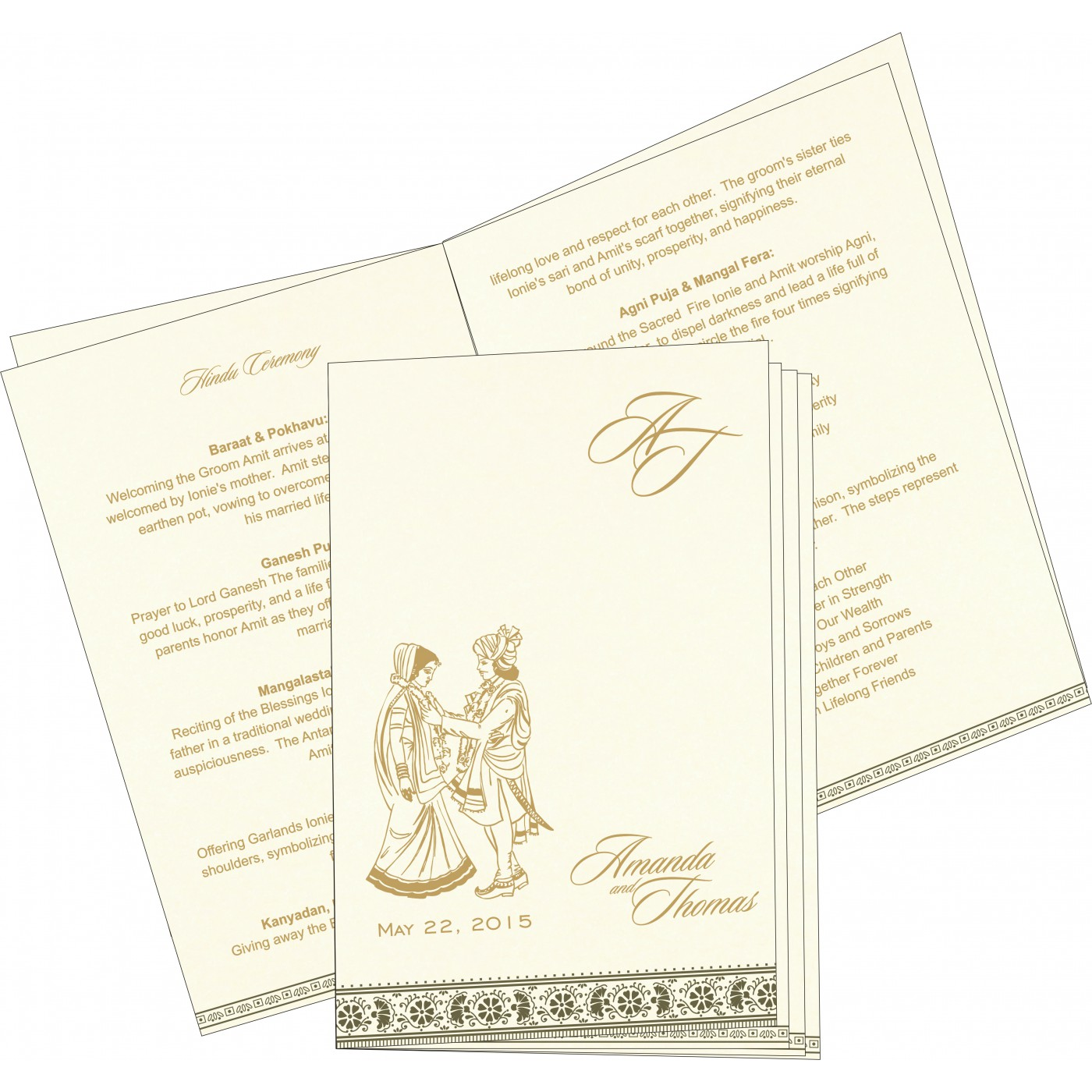Program Booklets : PC-8242O - 123WeddingCards