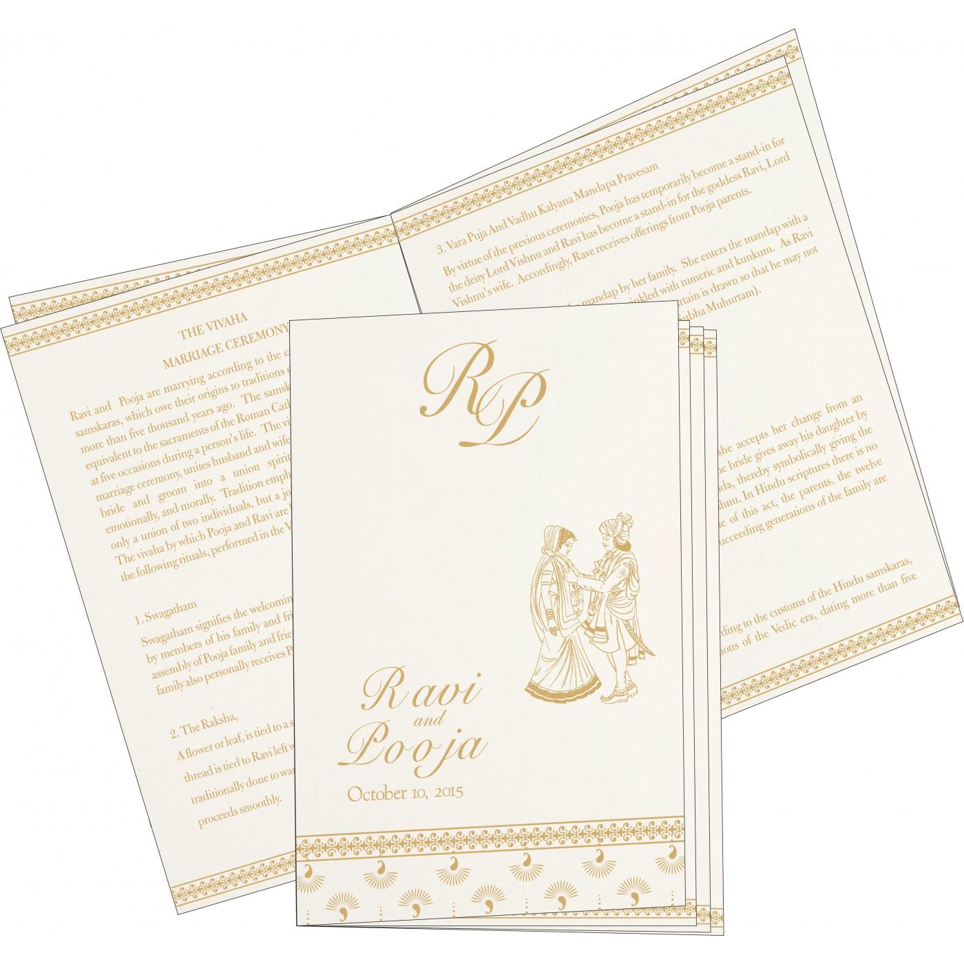 Program Booklets : PC-8247M - 123WeddingCards
