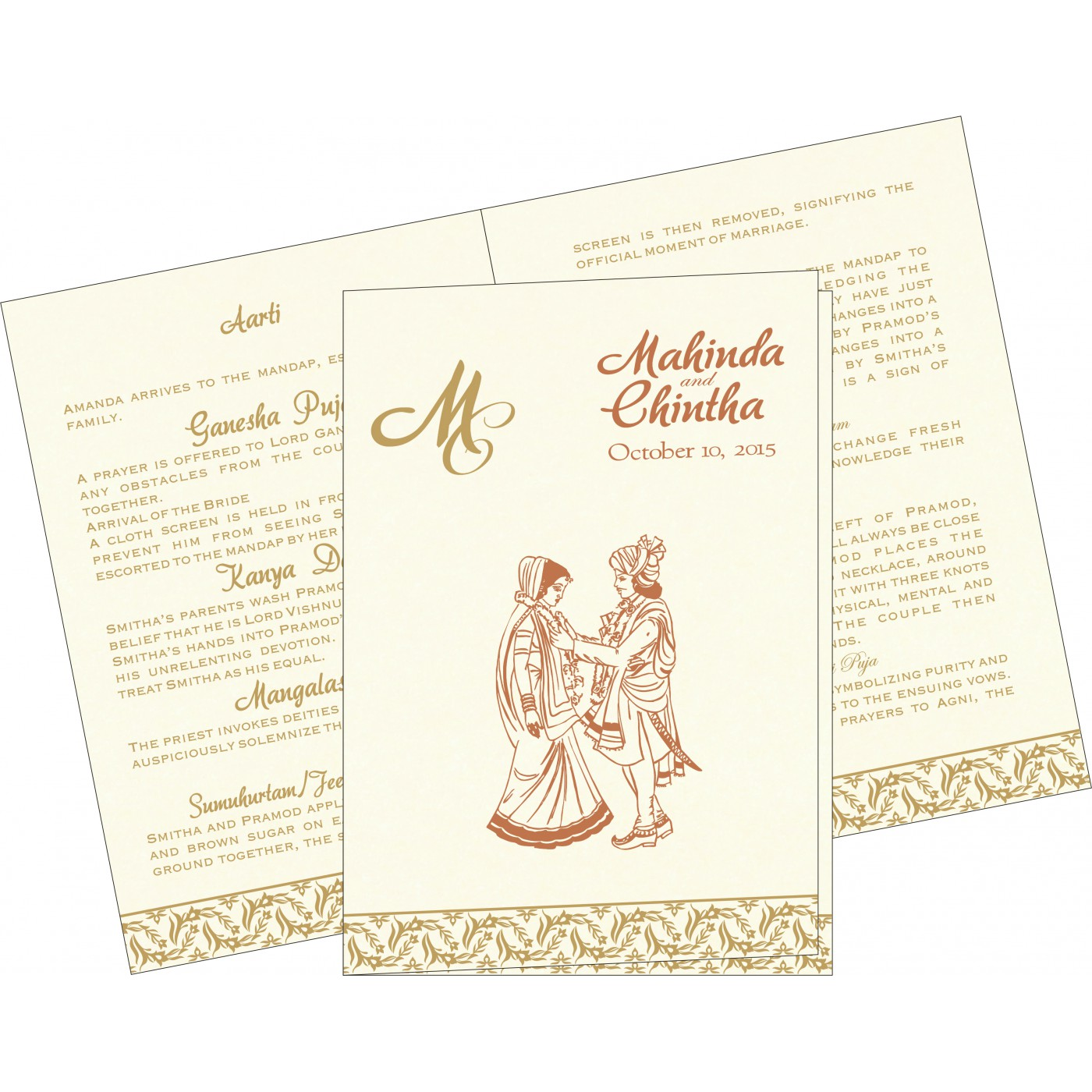 Program Booklets : PC-8249F - 123WeddingCards