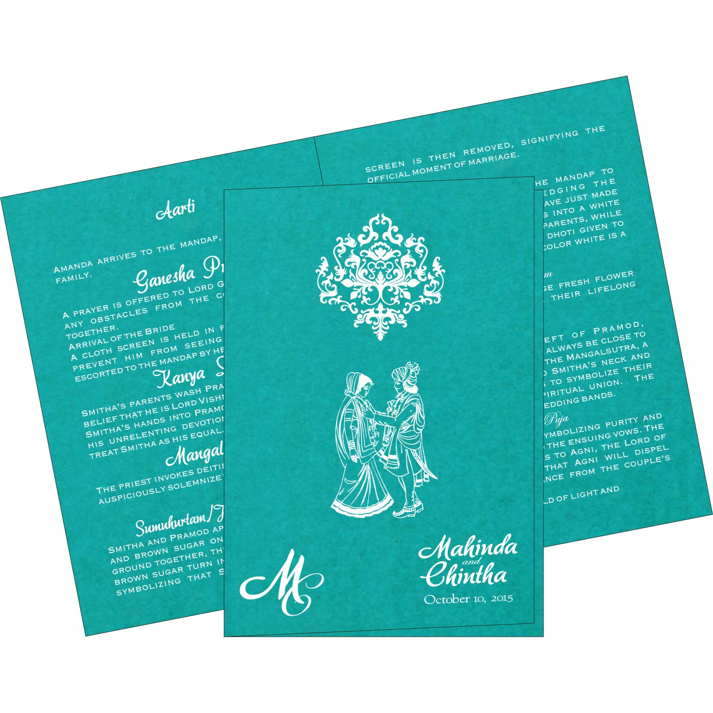 Program Booklets : PC-8254E - 123WeddingCards