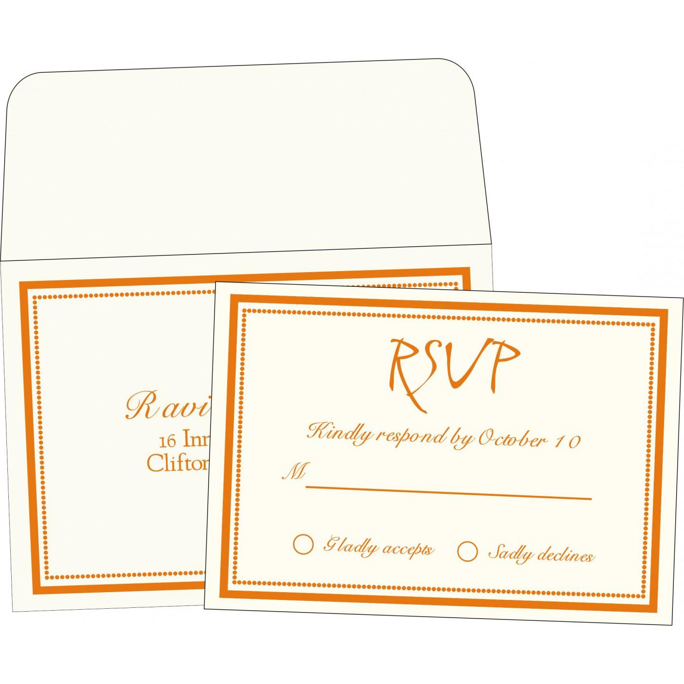 RSVP Cards : RSVP-1183 - 123WeddingCards