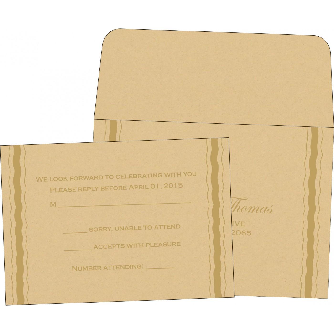 RSVP Cards : RSVP-1187 - 123WeddingCards