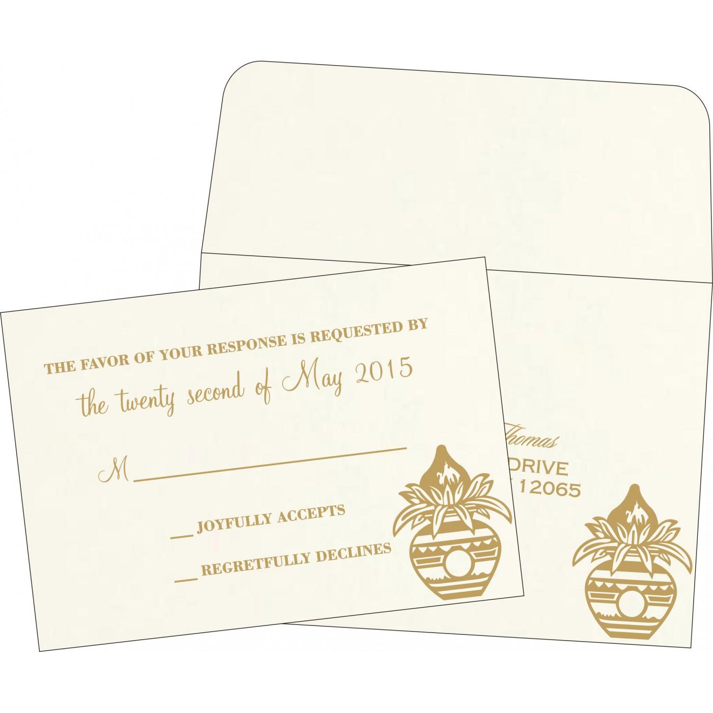 RSVP Cards : RSVP-1188 - 123WeddingCards