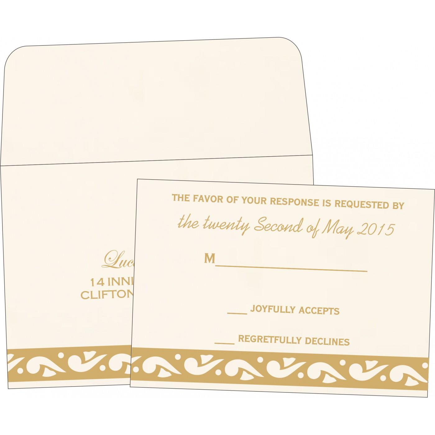 RSVP Cards : RSVP-1225 - 123WeddingCards
