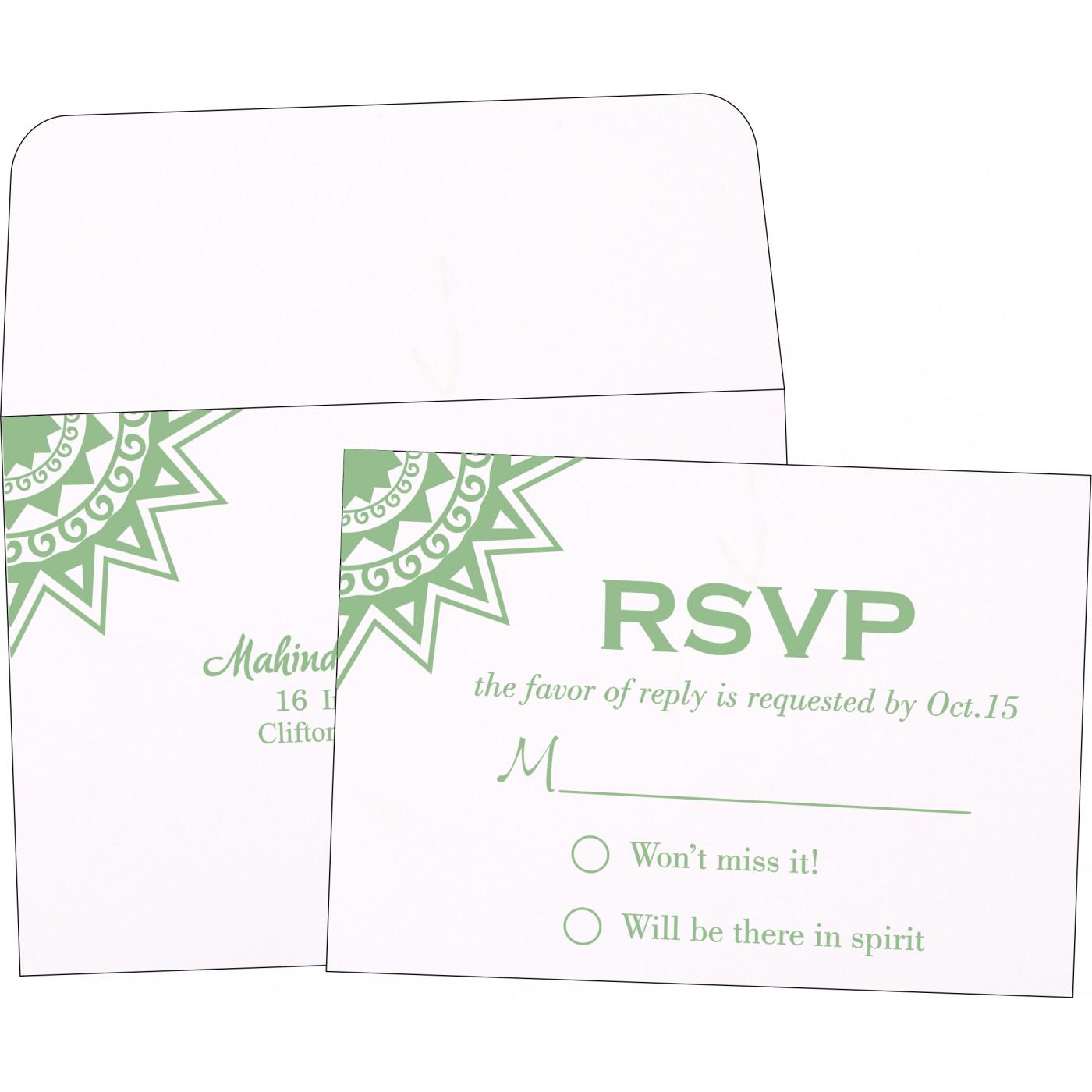 RSVP Cards : RSVP-1266 - 123WeddingCards