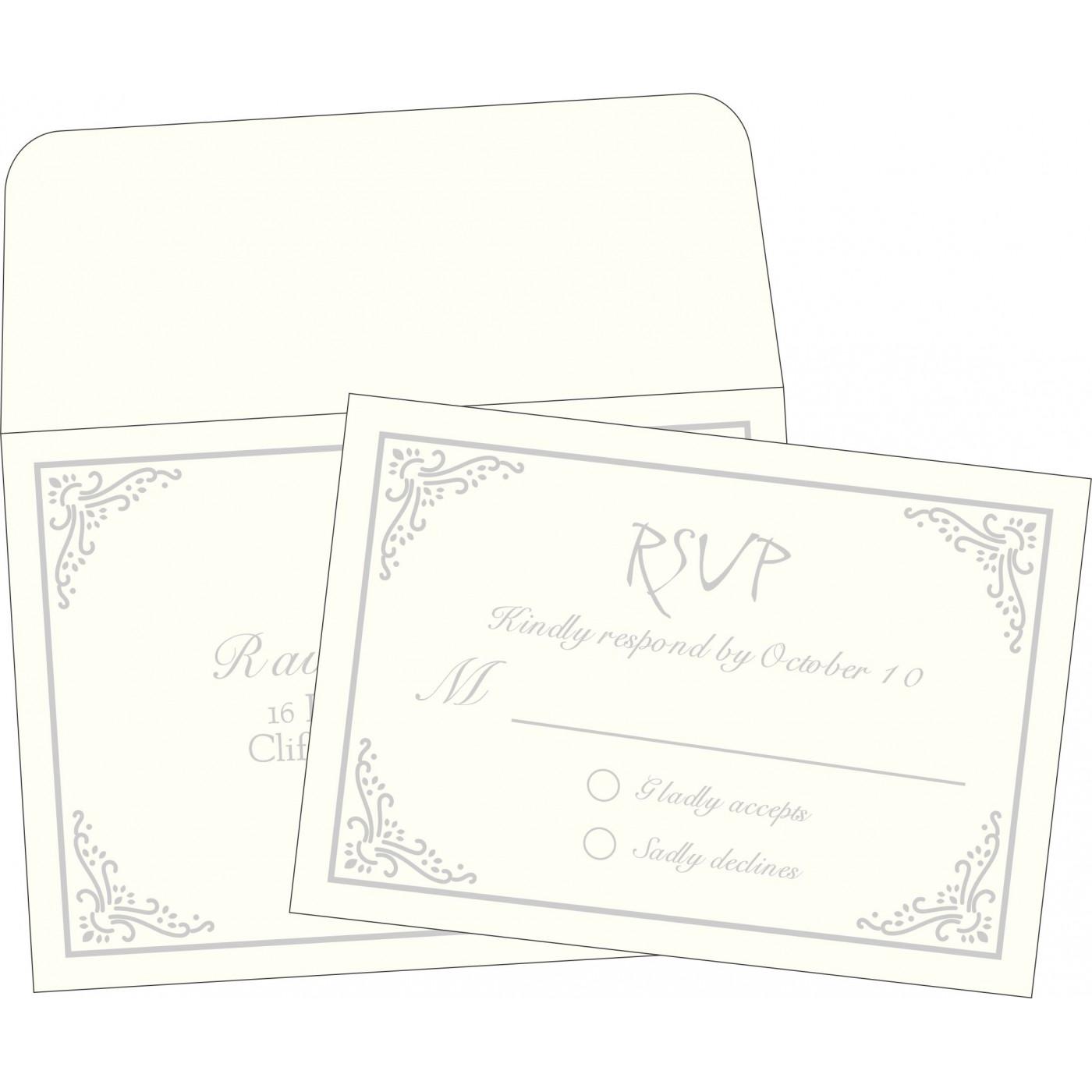 RSVP Cards : RSVP-1325 - 123WeddingCards