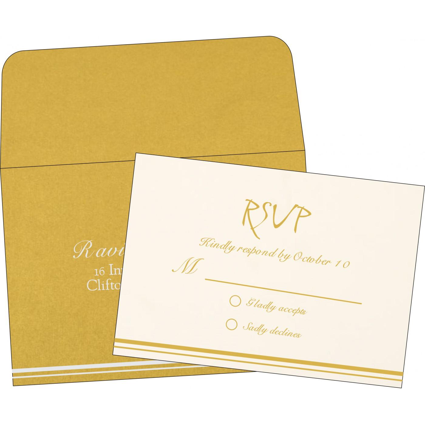 RSVP Cards : RSVP-1350 - 123WeddingCards