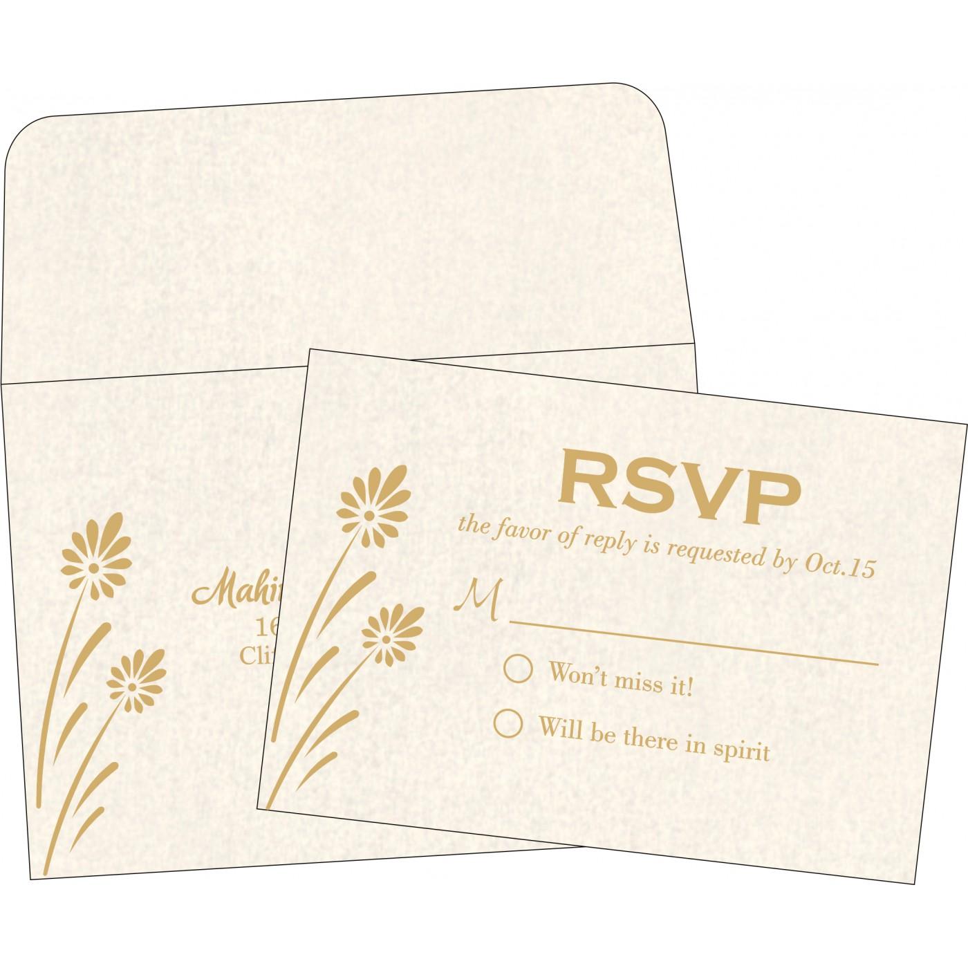 RSVP Cards : RSVP-1372 - 123WeddingCards