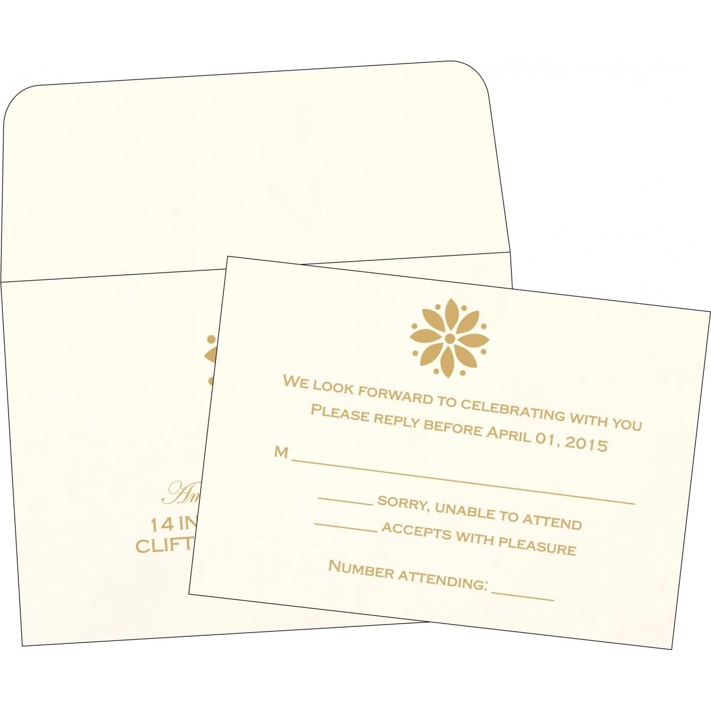 RSVP Cards : RSVP-1385 - 123WeddingCards