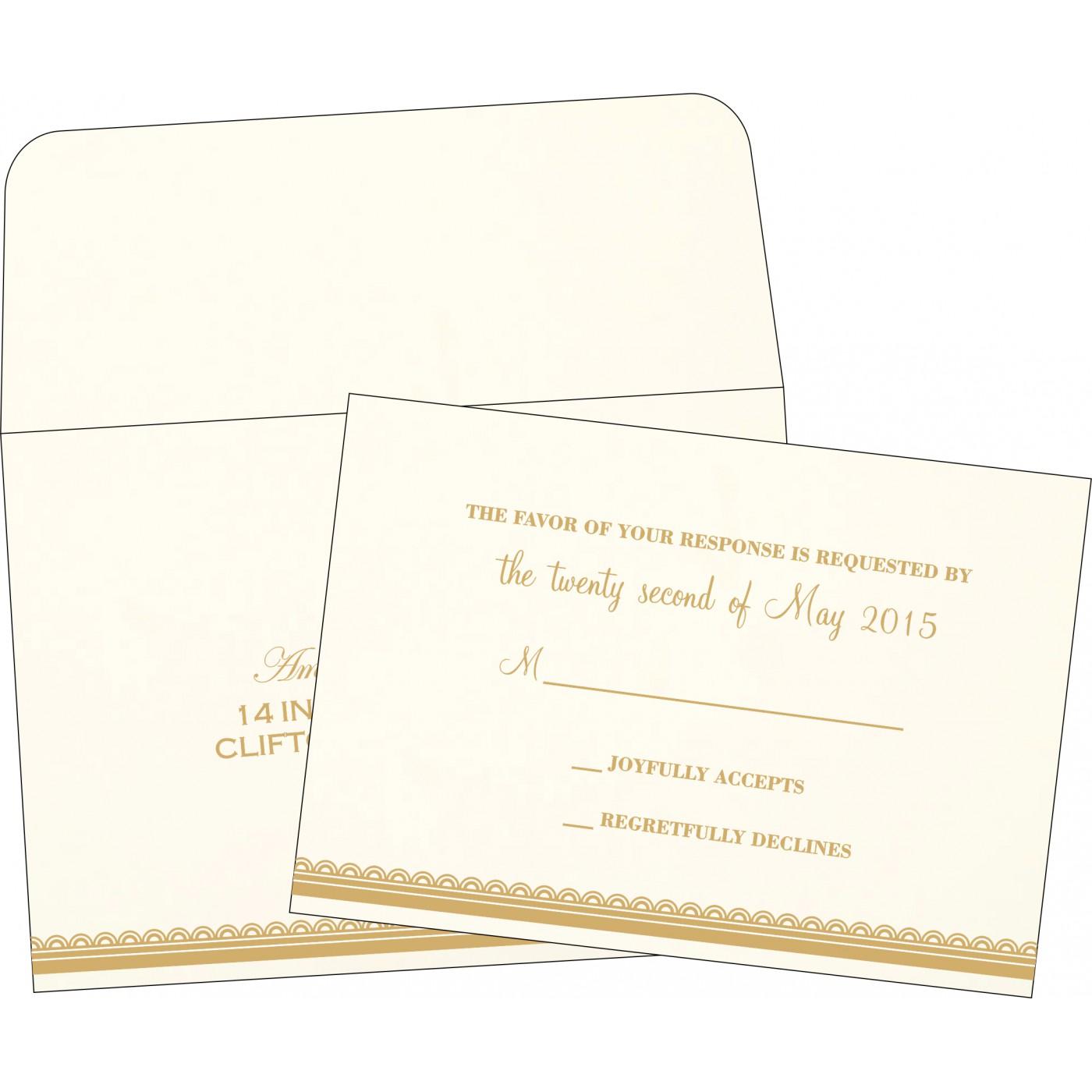 RSVP Cards : RSVP-1402 - 123WeddingCards