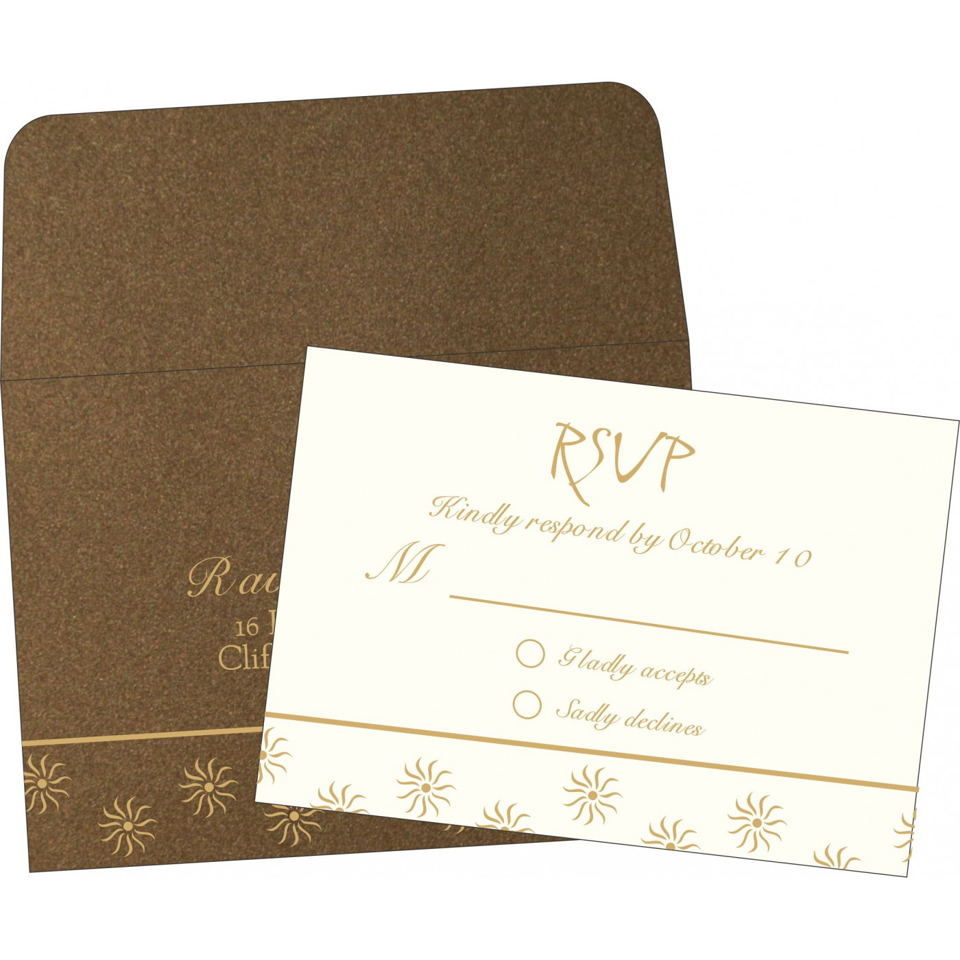 RSVP Cards : RSVP-1405 - 123WeddingCards