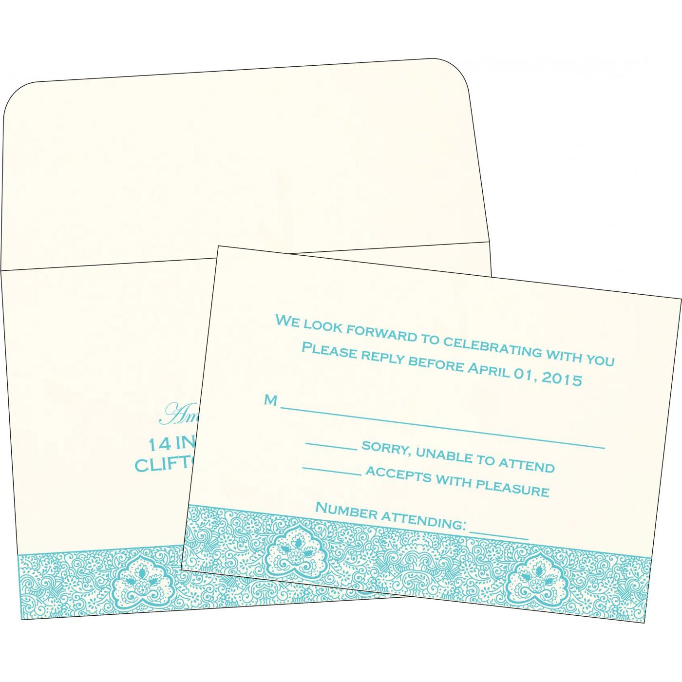 RSVP Cards : RSVP-1410 - 123WeddingCards