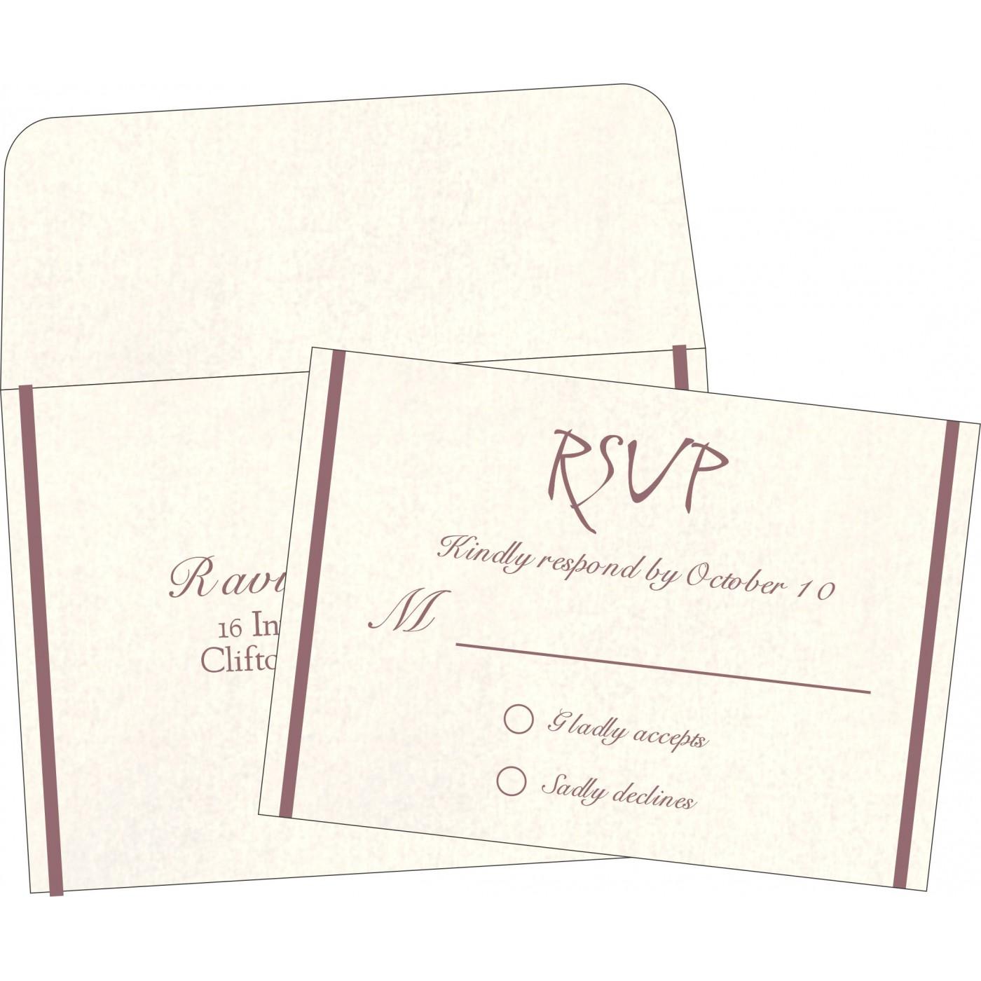 RSVP Cards : RSVP-1413 - 123WeddingCards