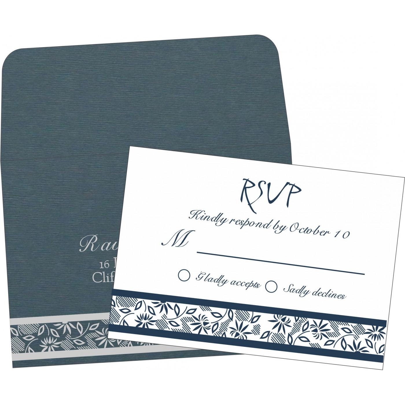 RSVP Cards : RSVP-1433 - 123WeddingCards