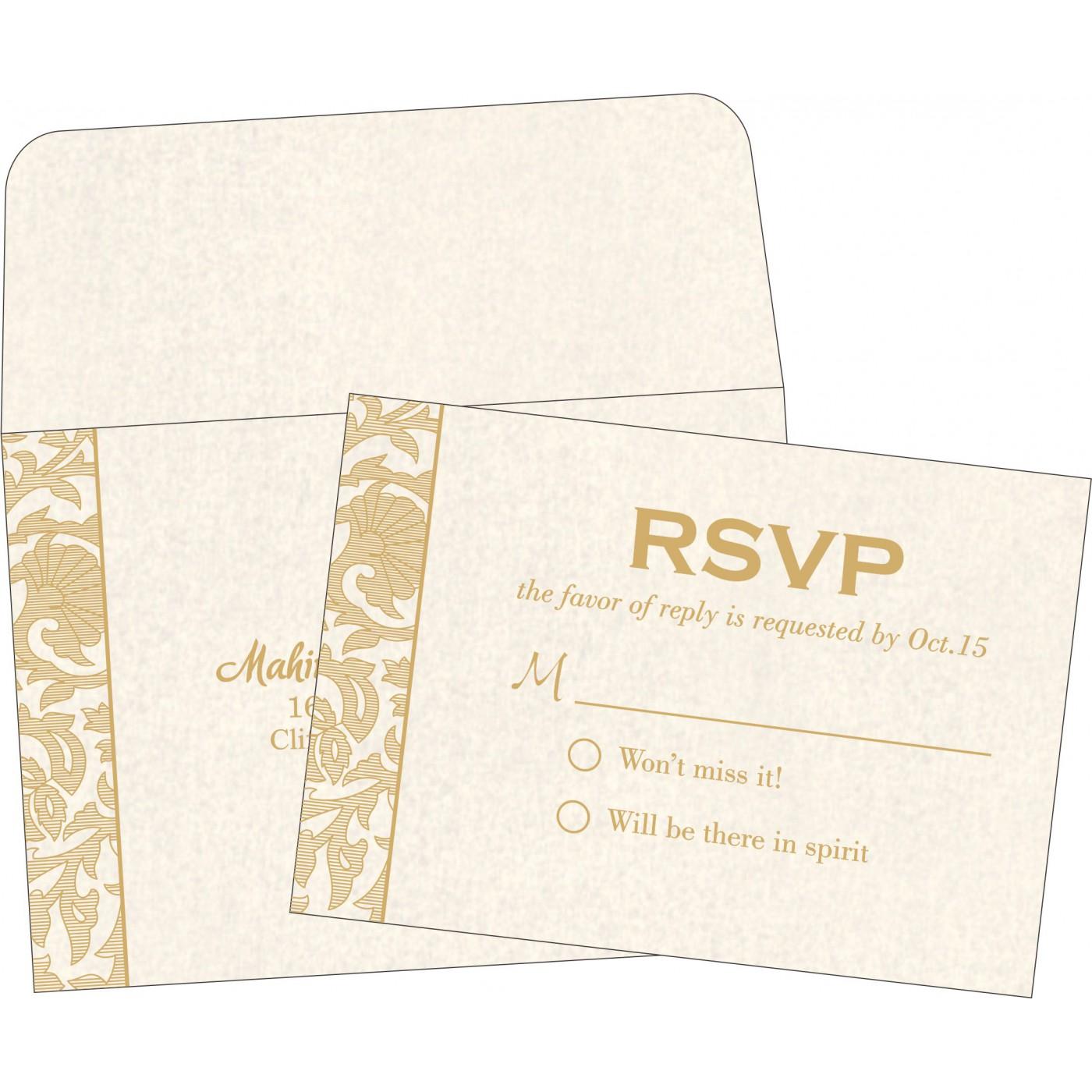 RSVP Cards : RSVP-1434 - 123WeddingCards