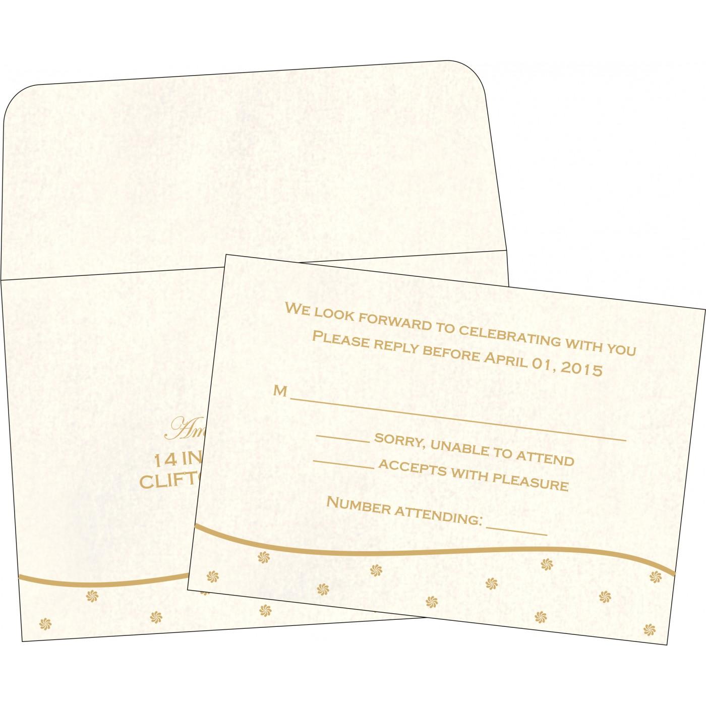 RSVP Cards : RSVP-1435 - 123WeddingCards