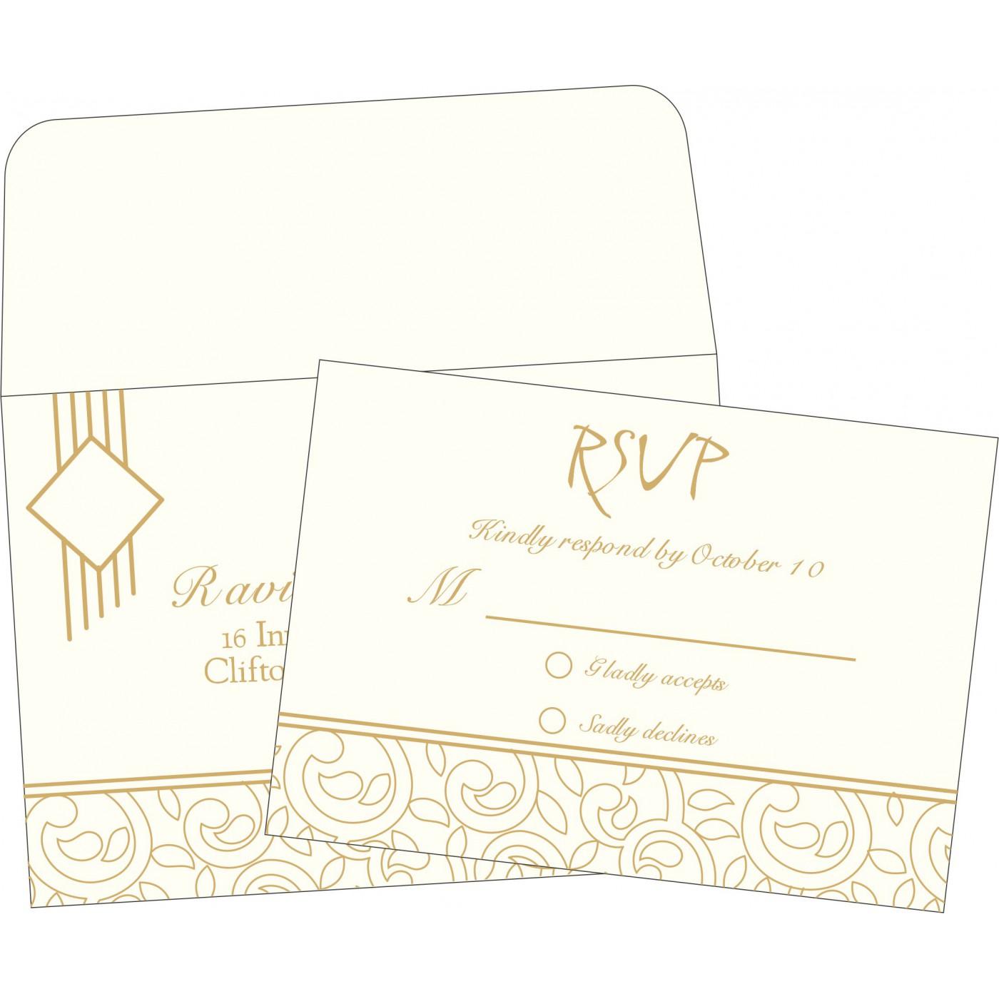 RSVP Cards : RSVP-1438 - 123WeddingCards