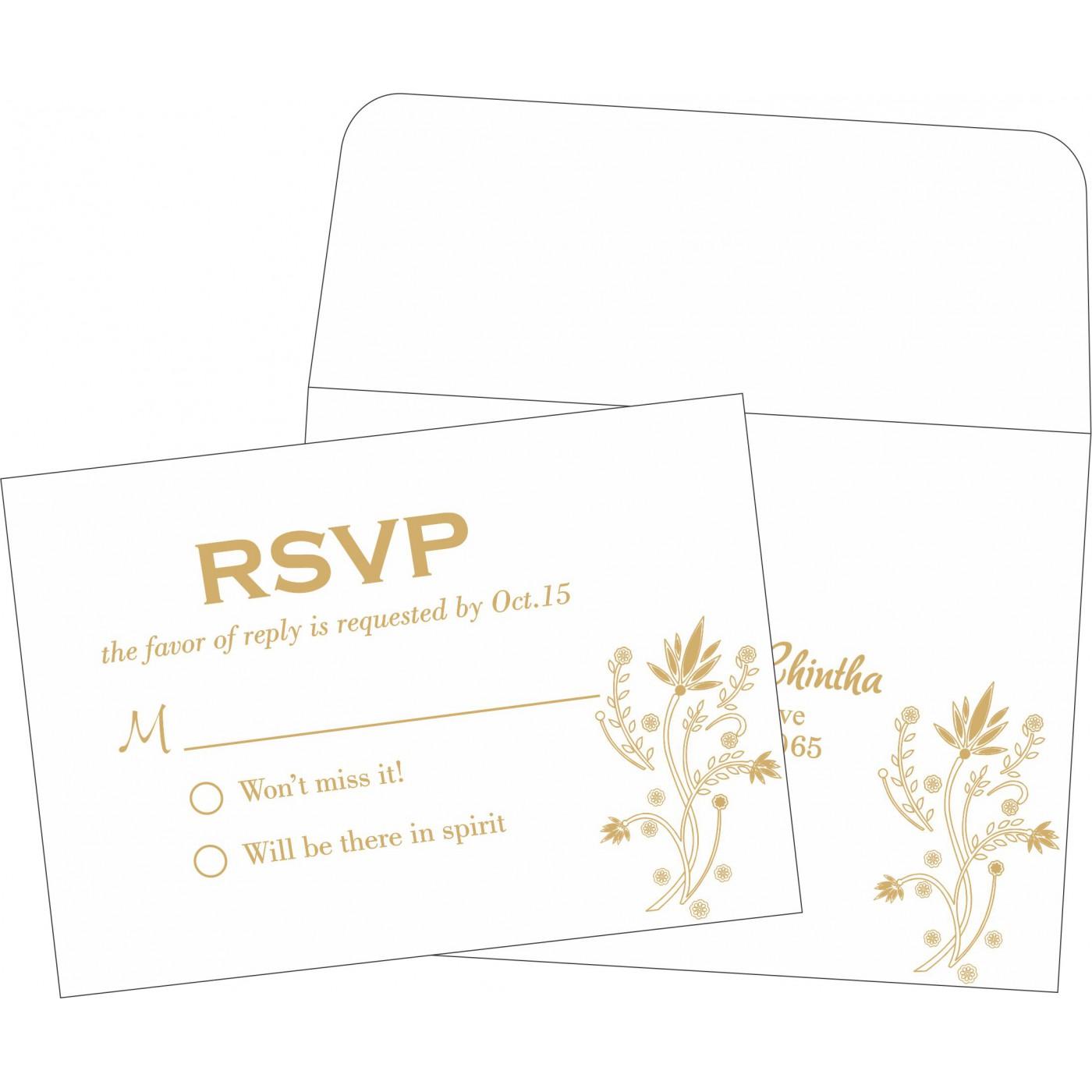 RSVP Cards : RSVP-1495 - 123WeddingCards