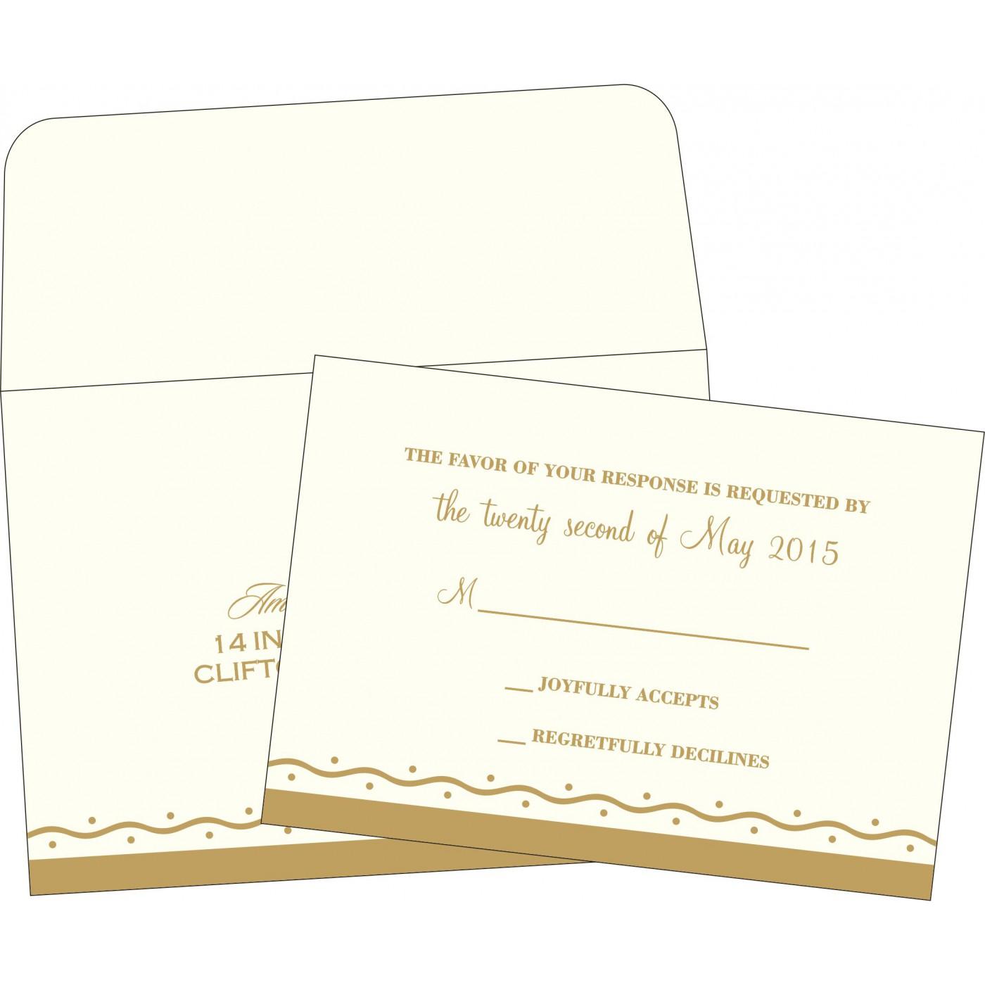 RSVP Cards : RSVP-2103 - 123WeddingCards