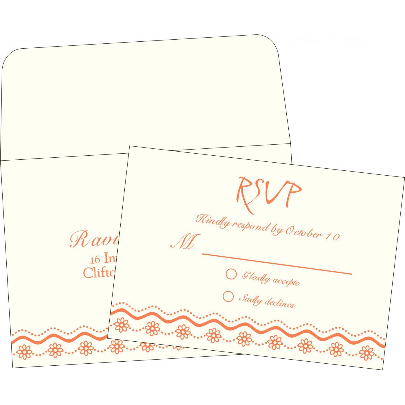 RSVP Cards : RSVP-2214 - 123WeddingCards