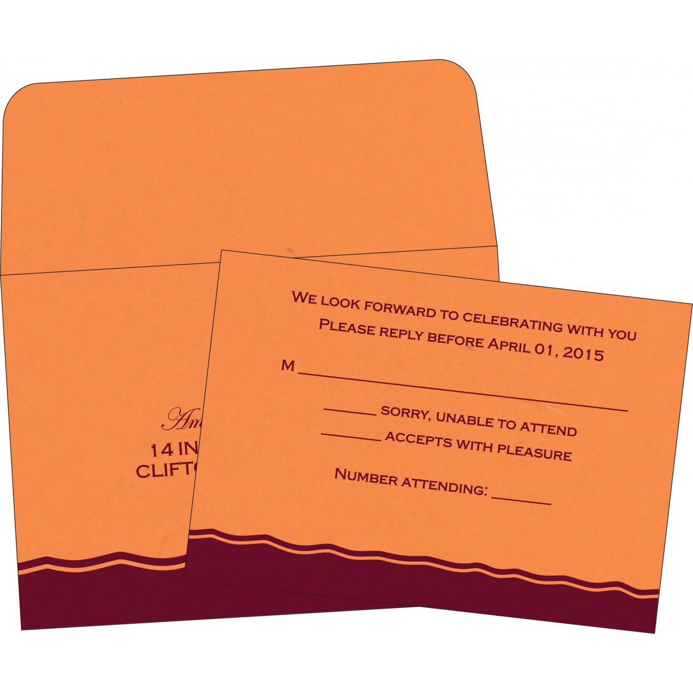 RSVP Cards : RSVP-2241 - 123WeddingCards