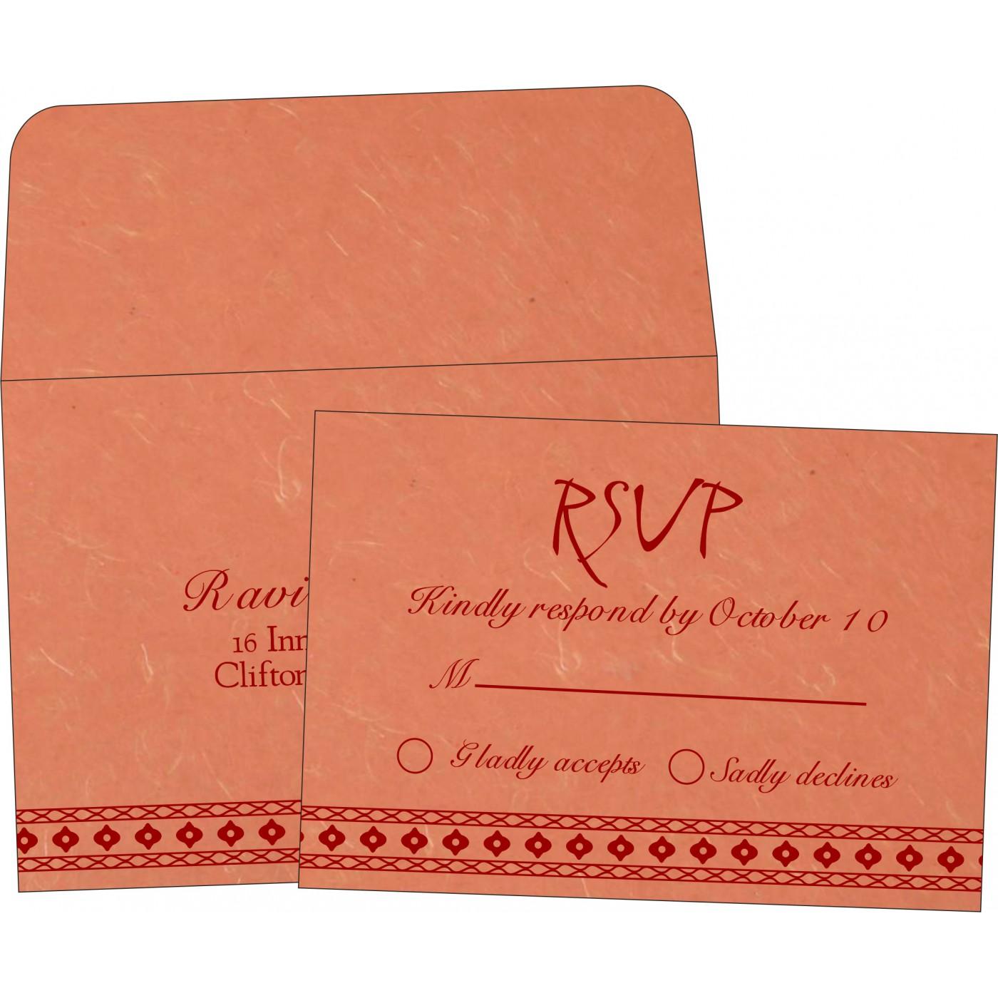 RSVP Cards : RSVP-5001M - 123WeddingCards