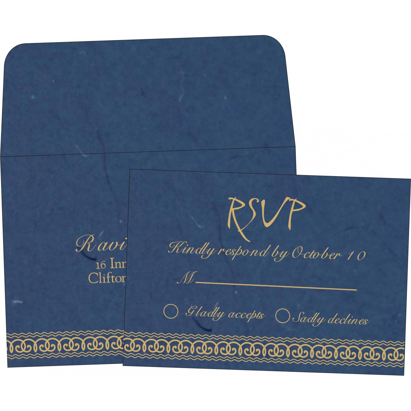 RSVP Cards : RSVP-5002D - 123WeddingCards