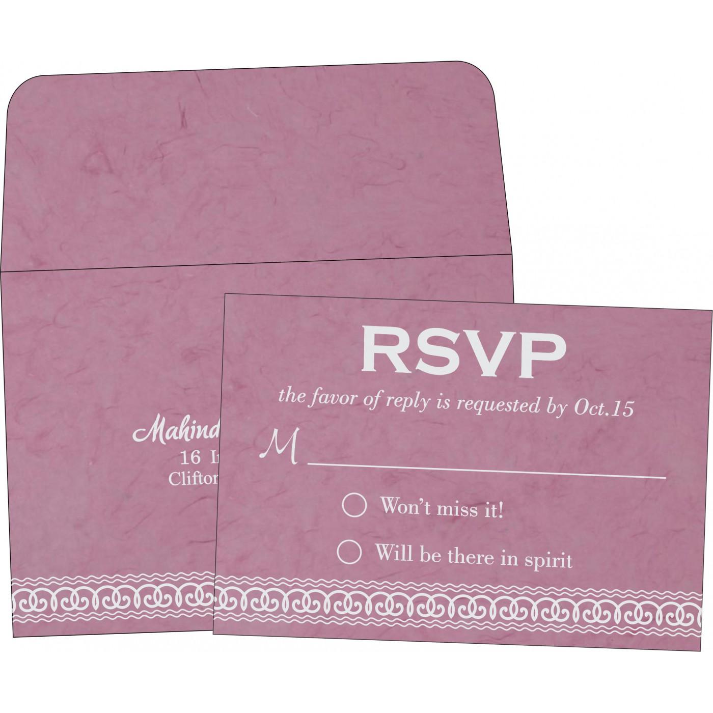 RSVP Cards : RSVP-5002E - 123WeddingCards