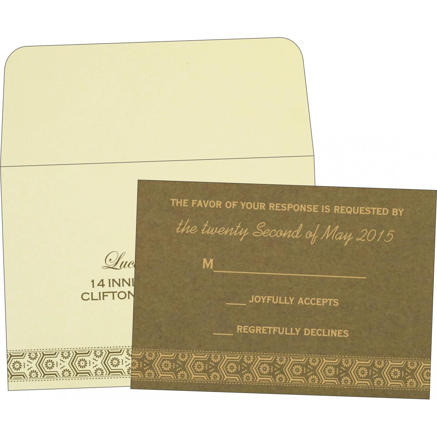 RSVP Cards : RSVP-5014A - 123WeddingCards
