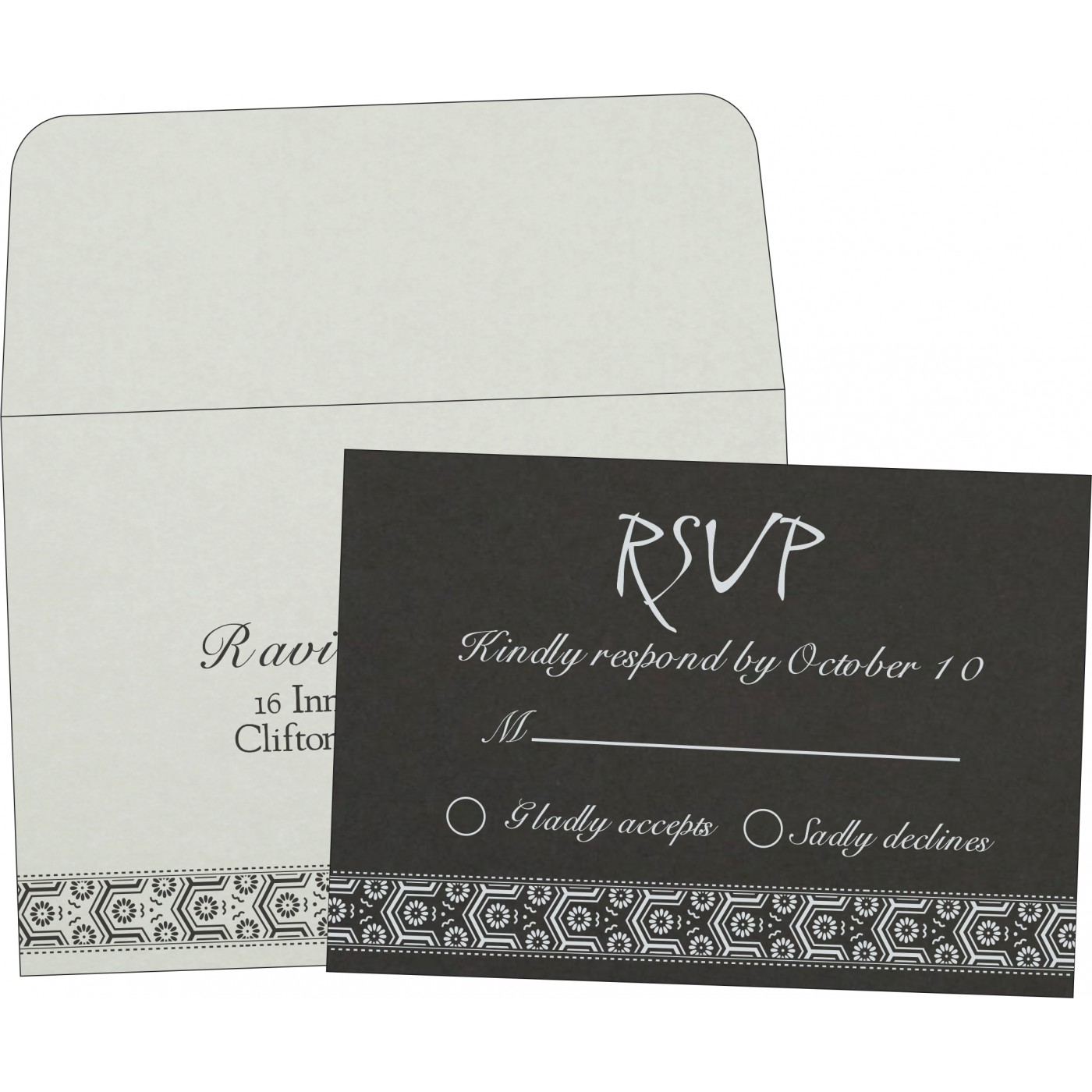 RSVP Cards : RSVP-5014I - 123WeddingCards