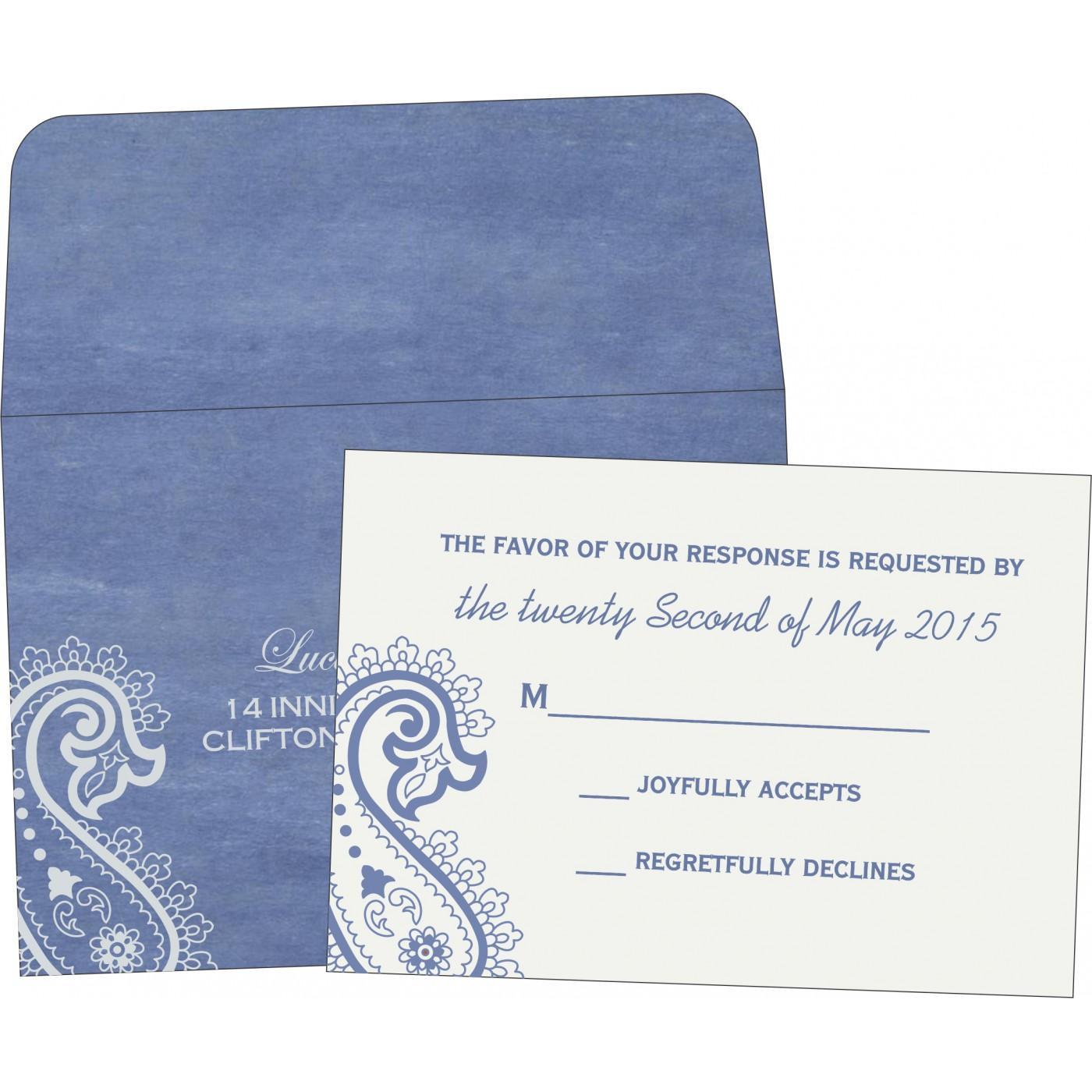 RSVP Cards : RSVP-5015A - 123WeddingCards