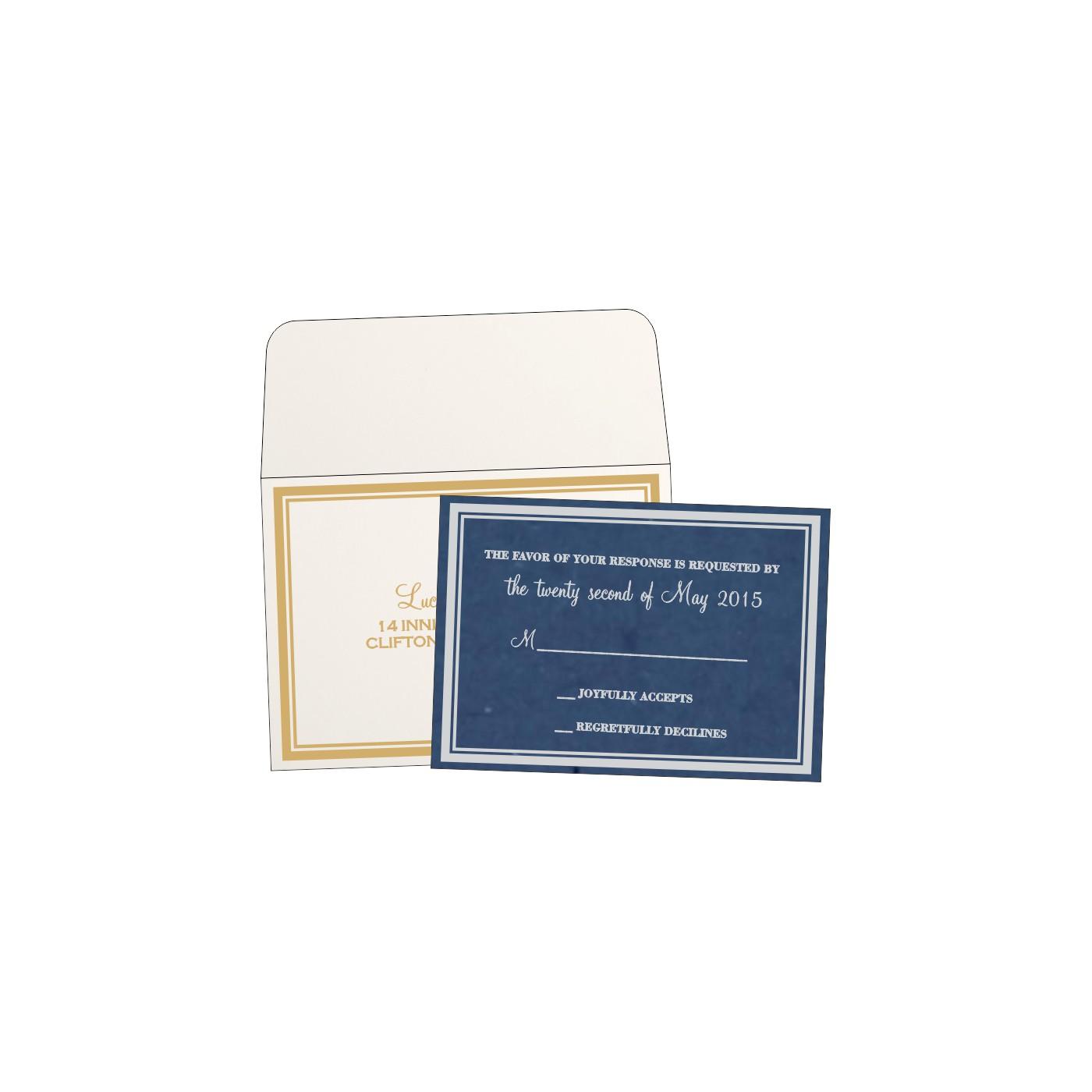 RSVP Cards : RSVP-8203F - 123WeddingCards