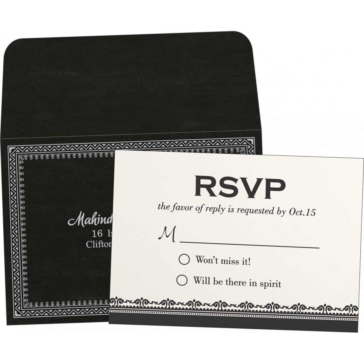 RSVP Cards : RSVP-8205L - 123WeddingCards