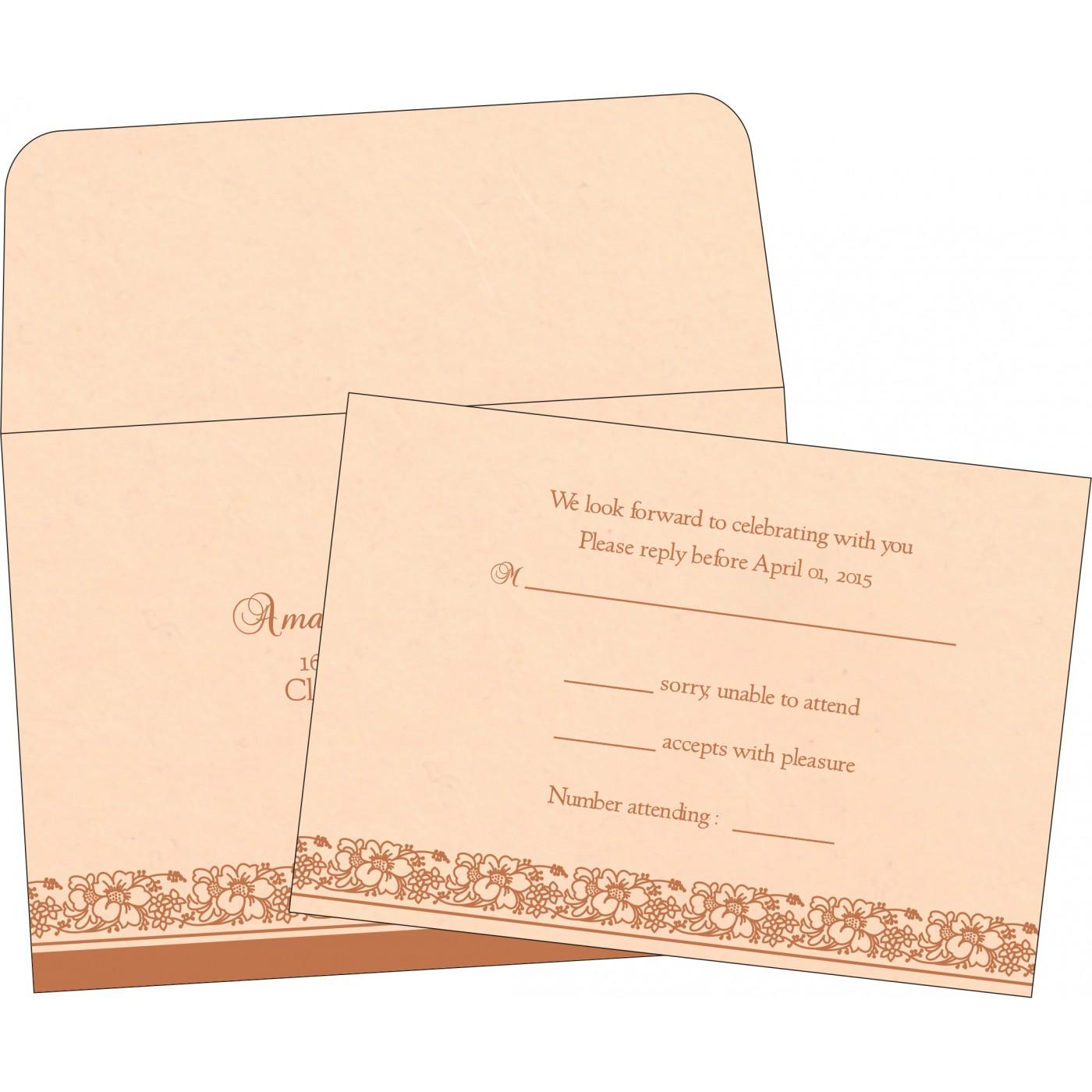 RSVP Cards : RSVP-8207C - 123WeddingCards